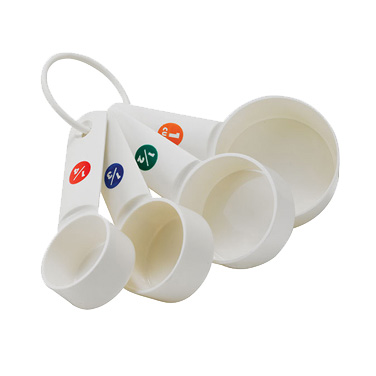 Winco MCPP-4 measuring cups