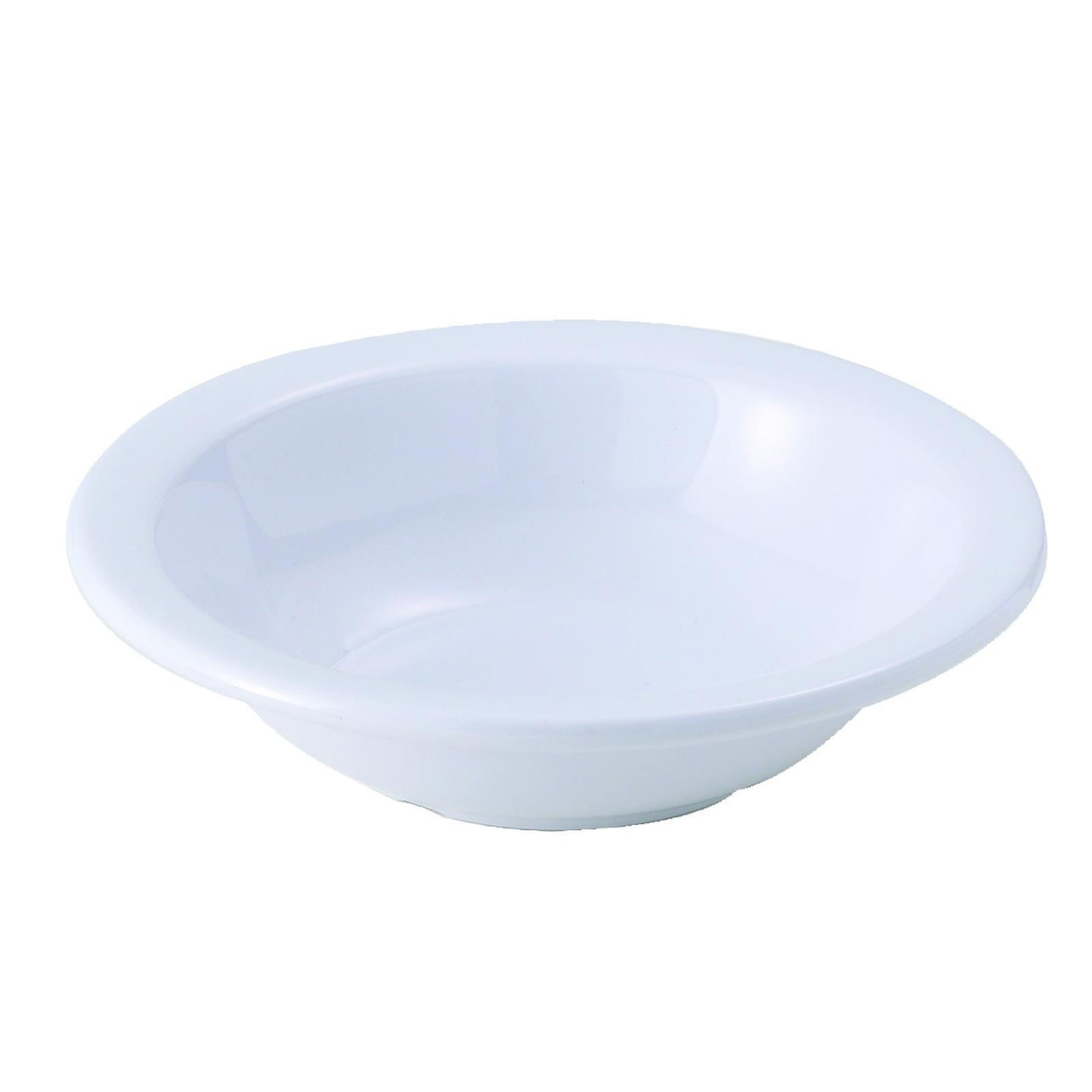 Winco MMB-13W grapefruit bowl, plastic