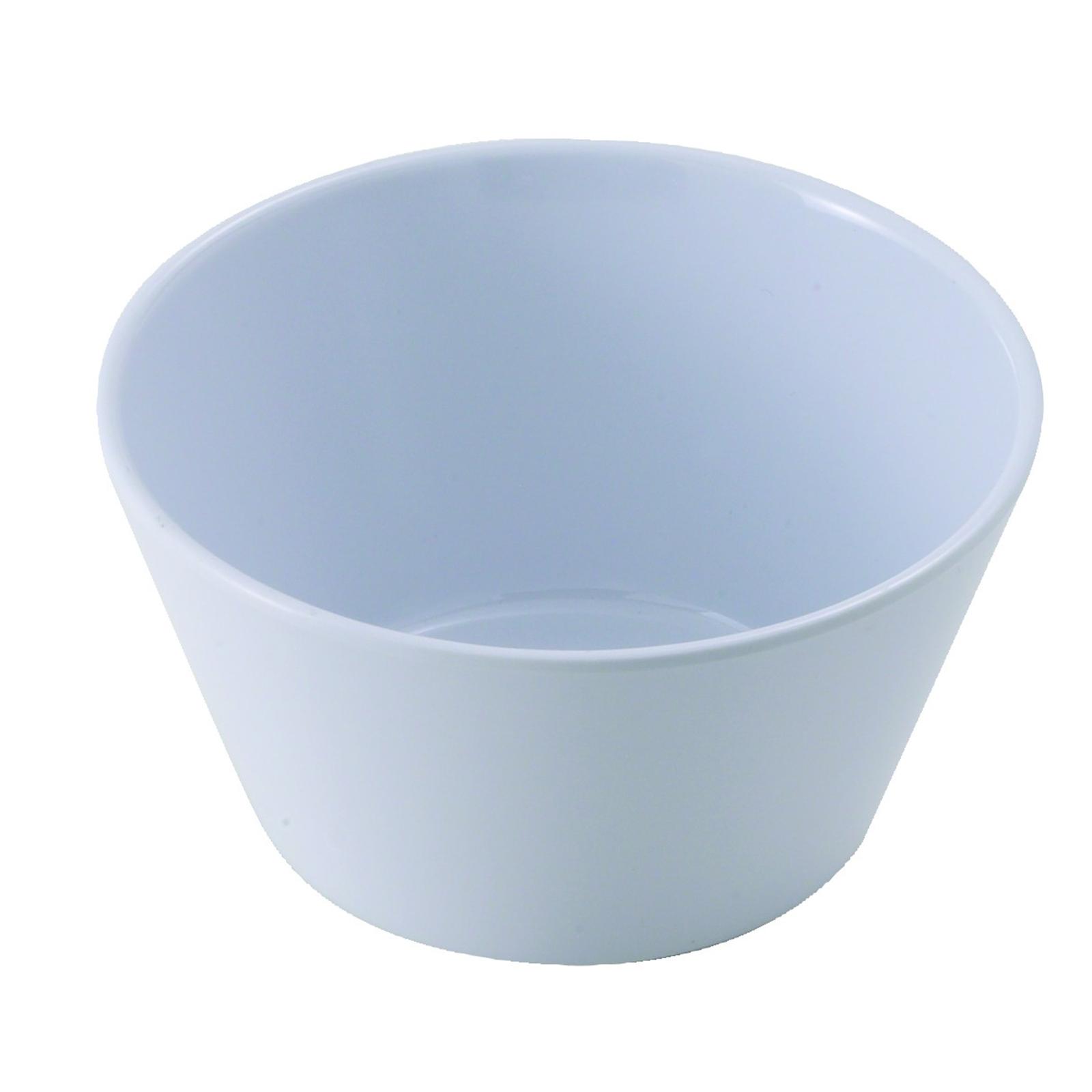 Winco MMB-8W bouillon cups, plastic