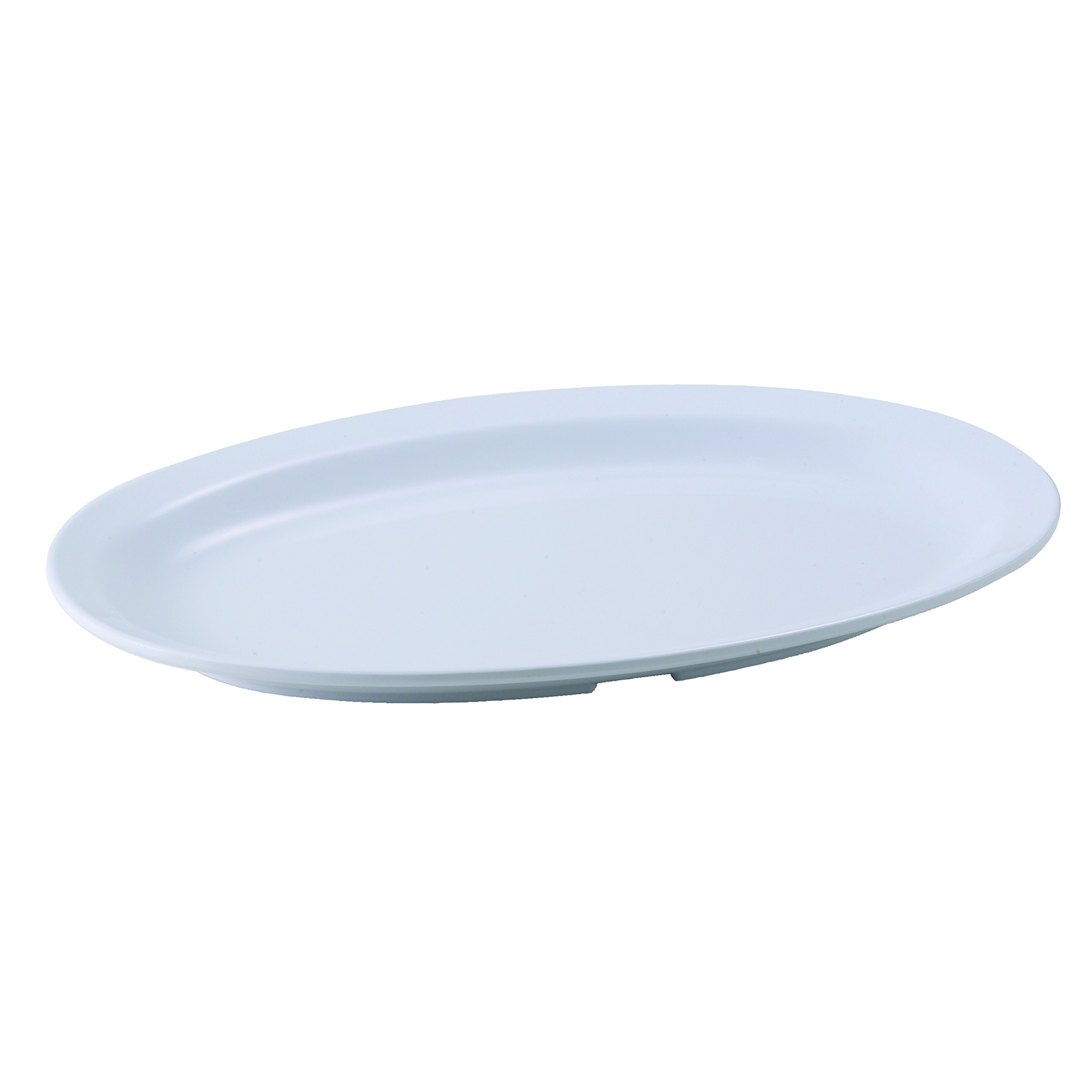 Winco MMPO-118W platter, plastic