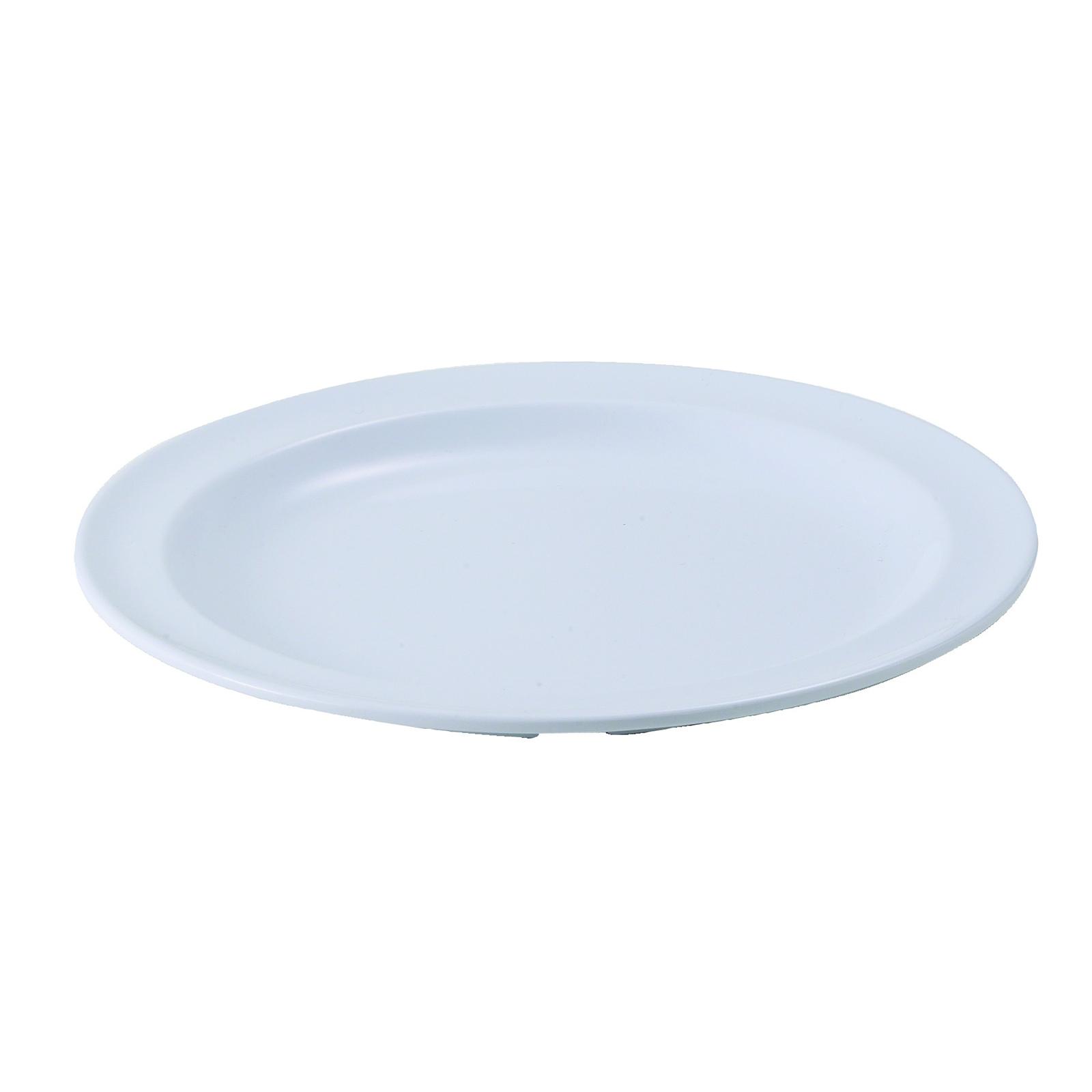 Winco MMPR-8W plate, plastic