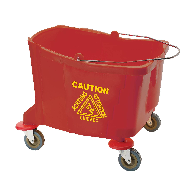 Winco MPB-36BR mop bucket