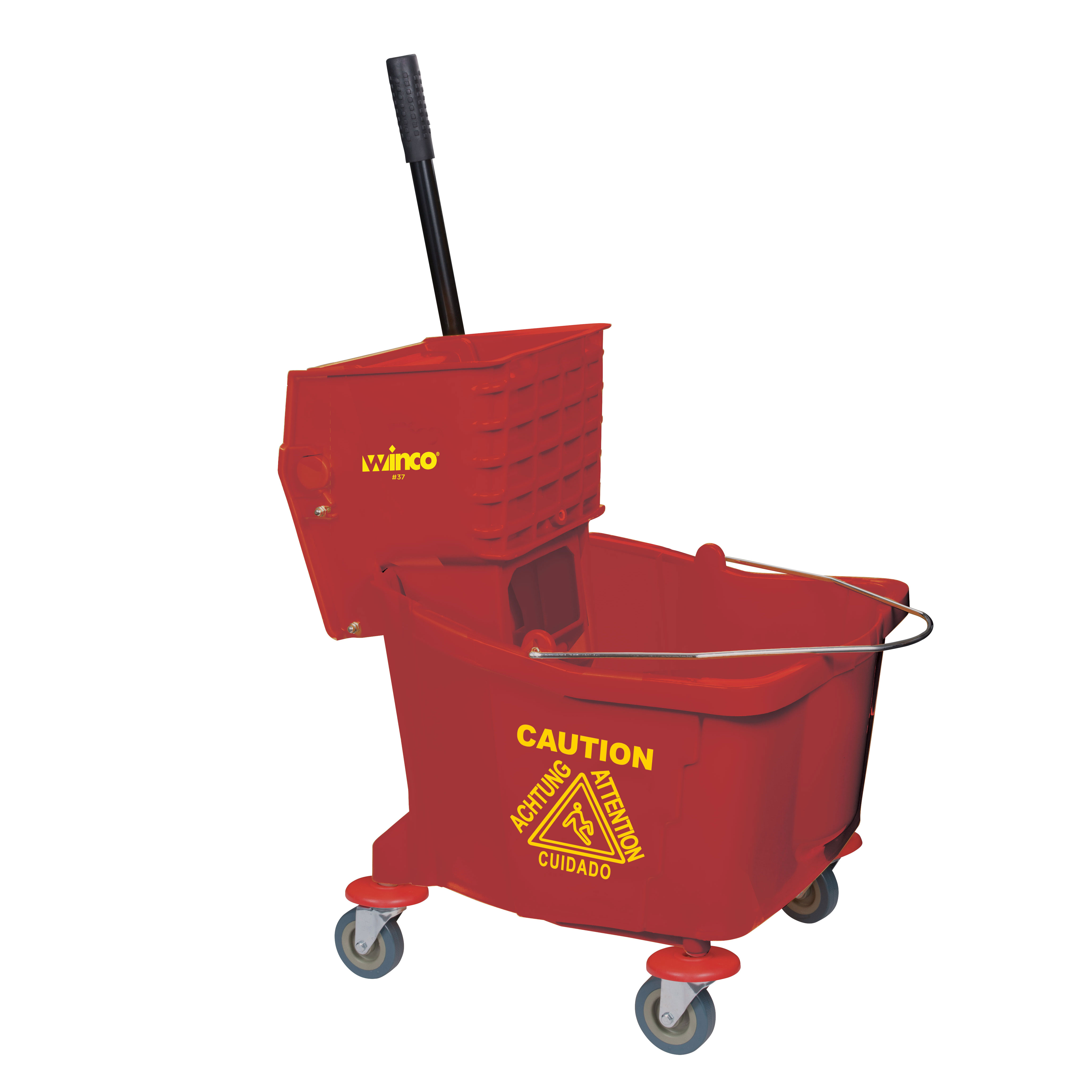 Winco MPB-36R mop bucket wringer combination