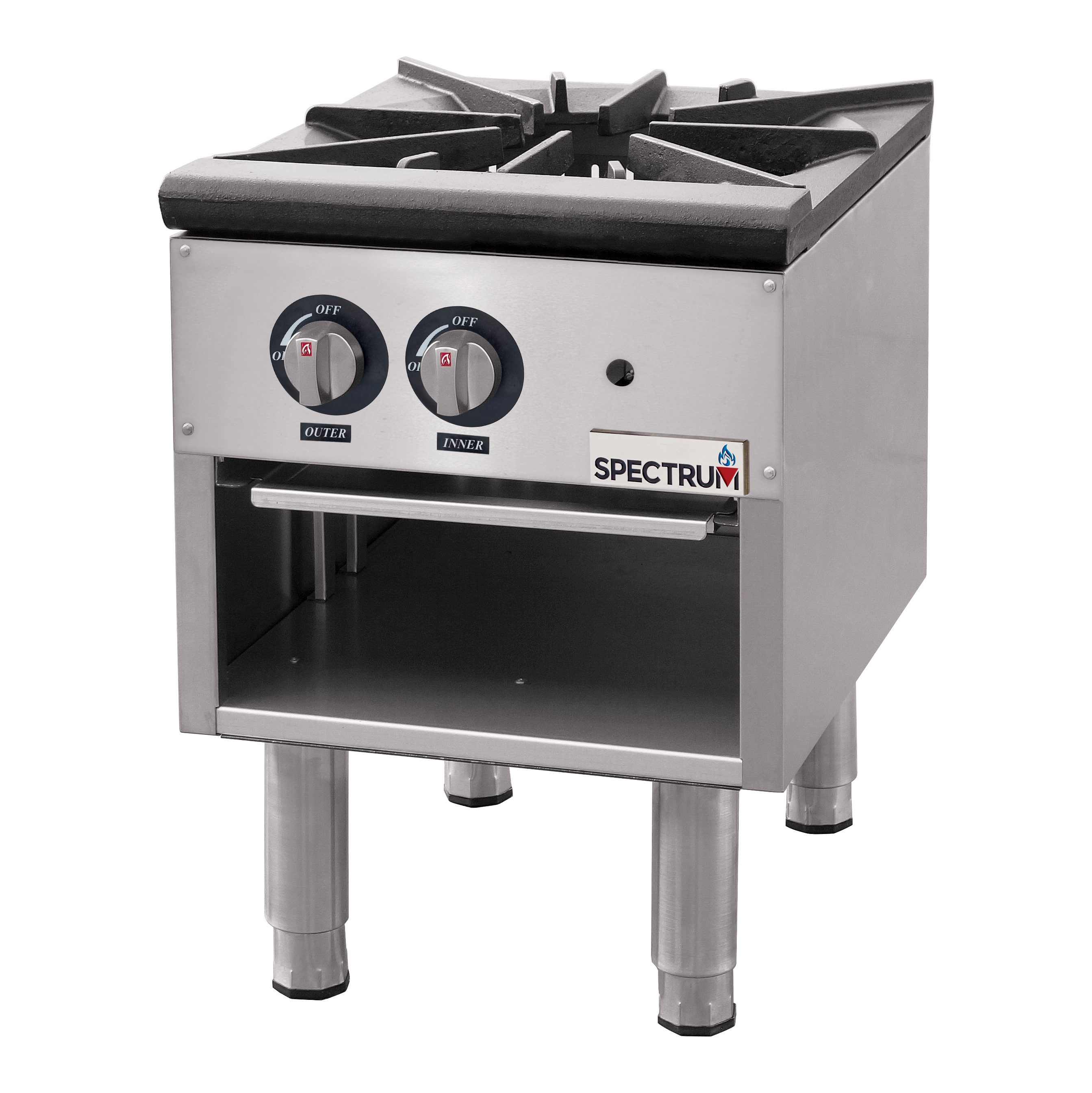 Winco NGSP-1 range, stock pot, gas