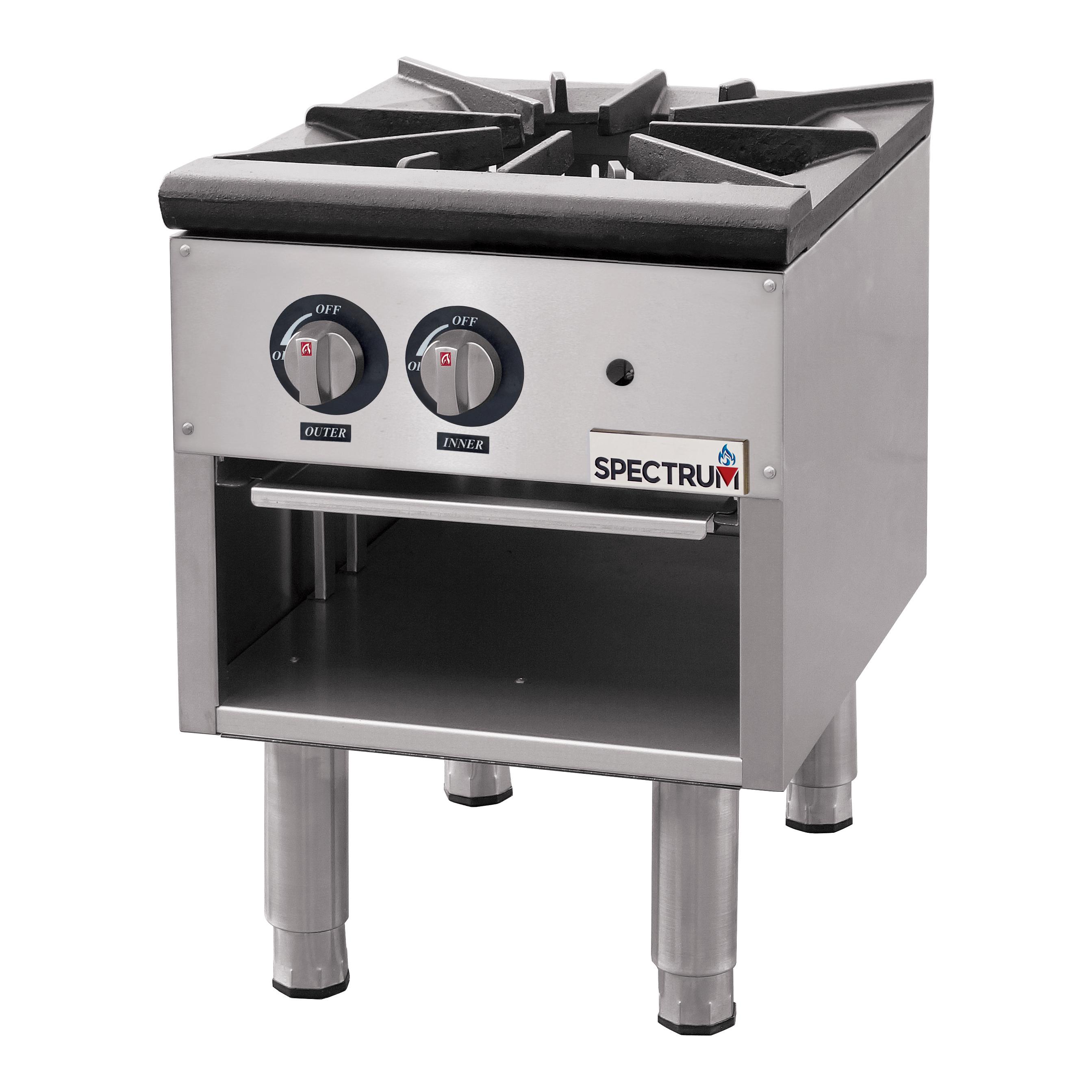 Winco NGSP-1 range, stock pot, gas