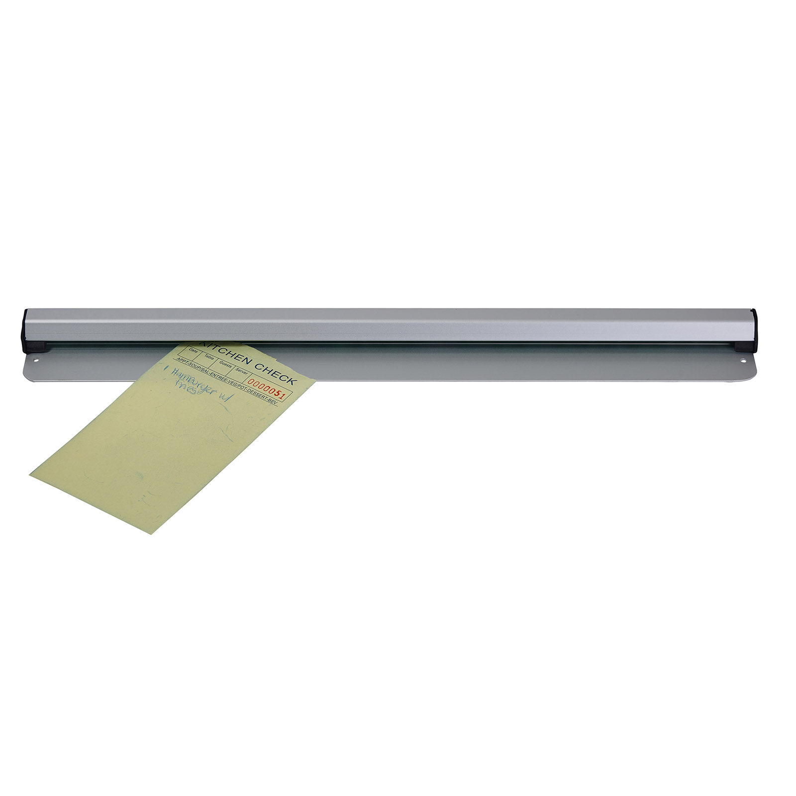 Winco ODR-18N check minder ticket holder / rail