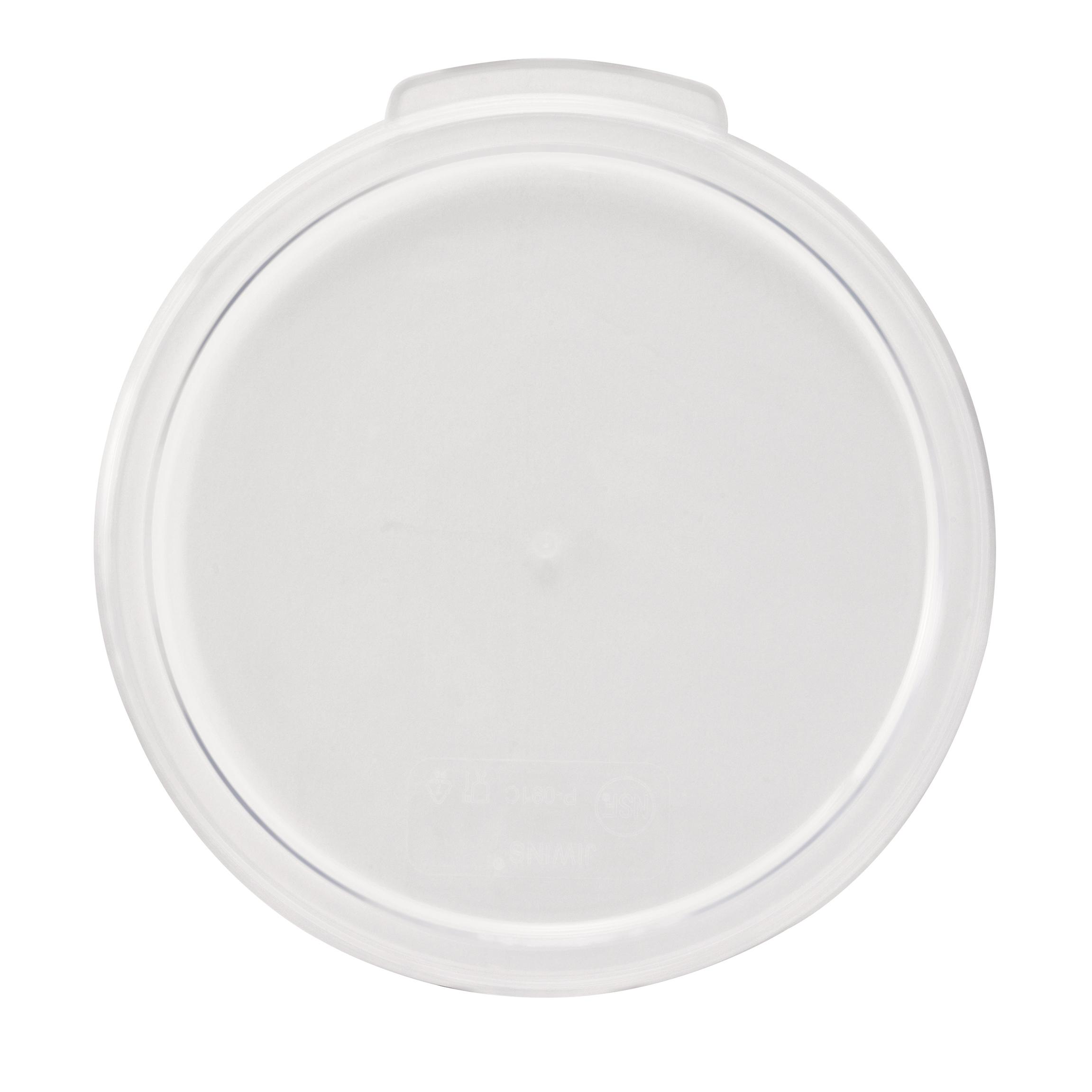 Winco PCRC-1222C food storage container cover