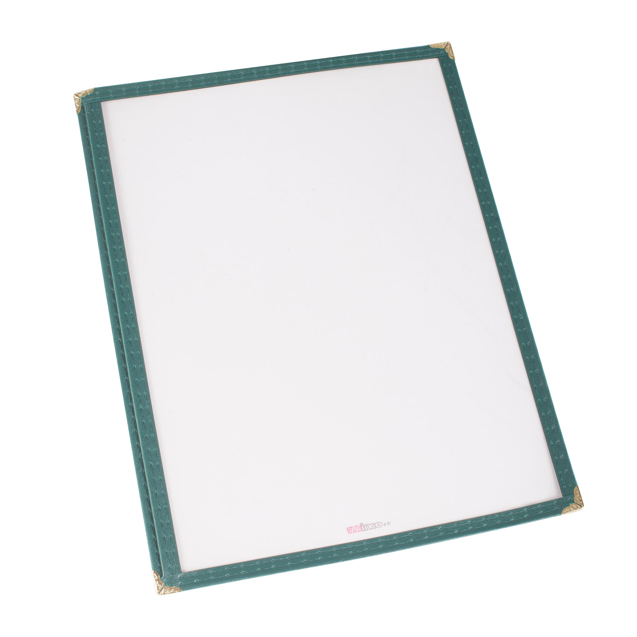 Winco PMC-9G menu cover