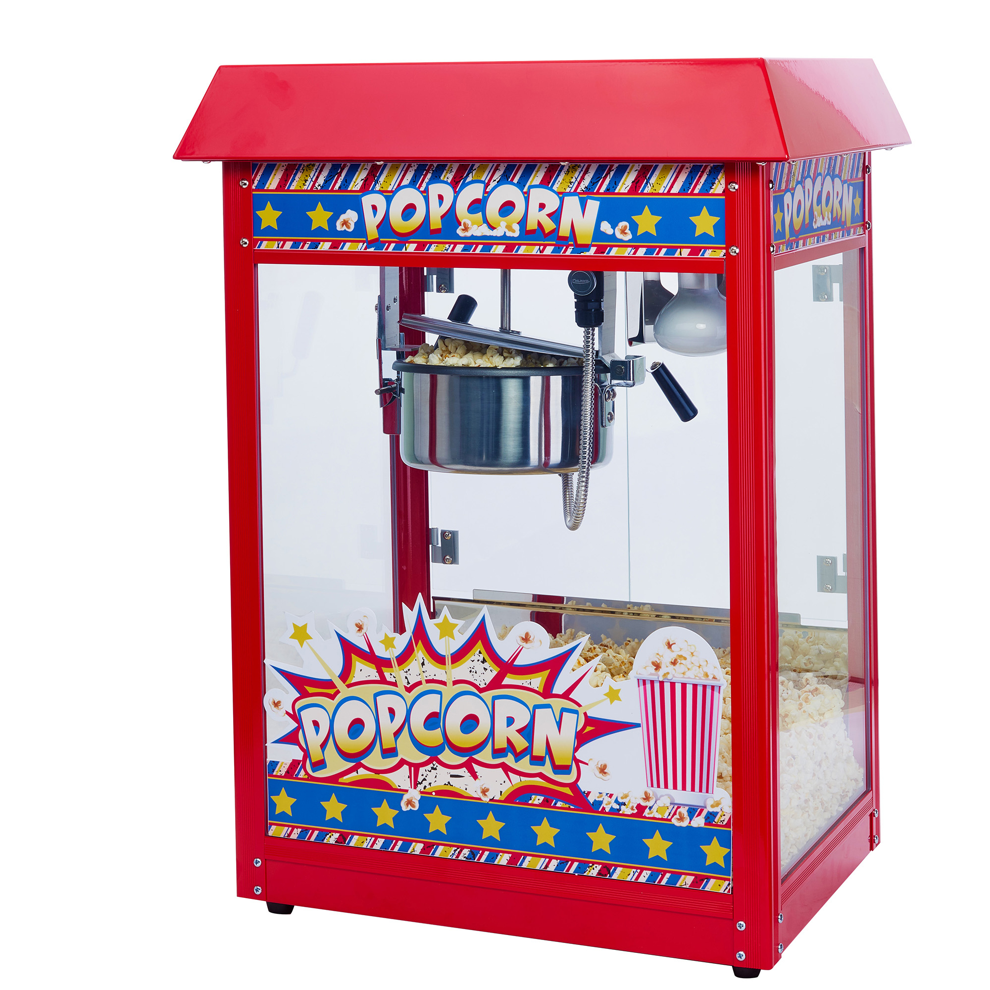 Winco POP-8R popcorn popper