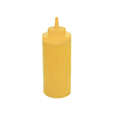 Winco PSW-16Y squeeze bottle