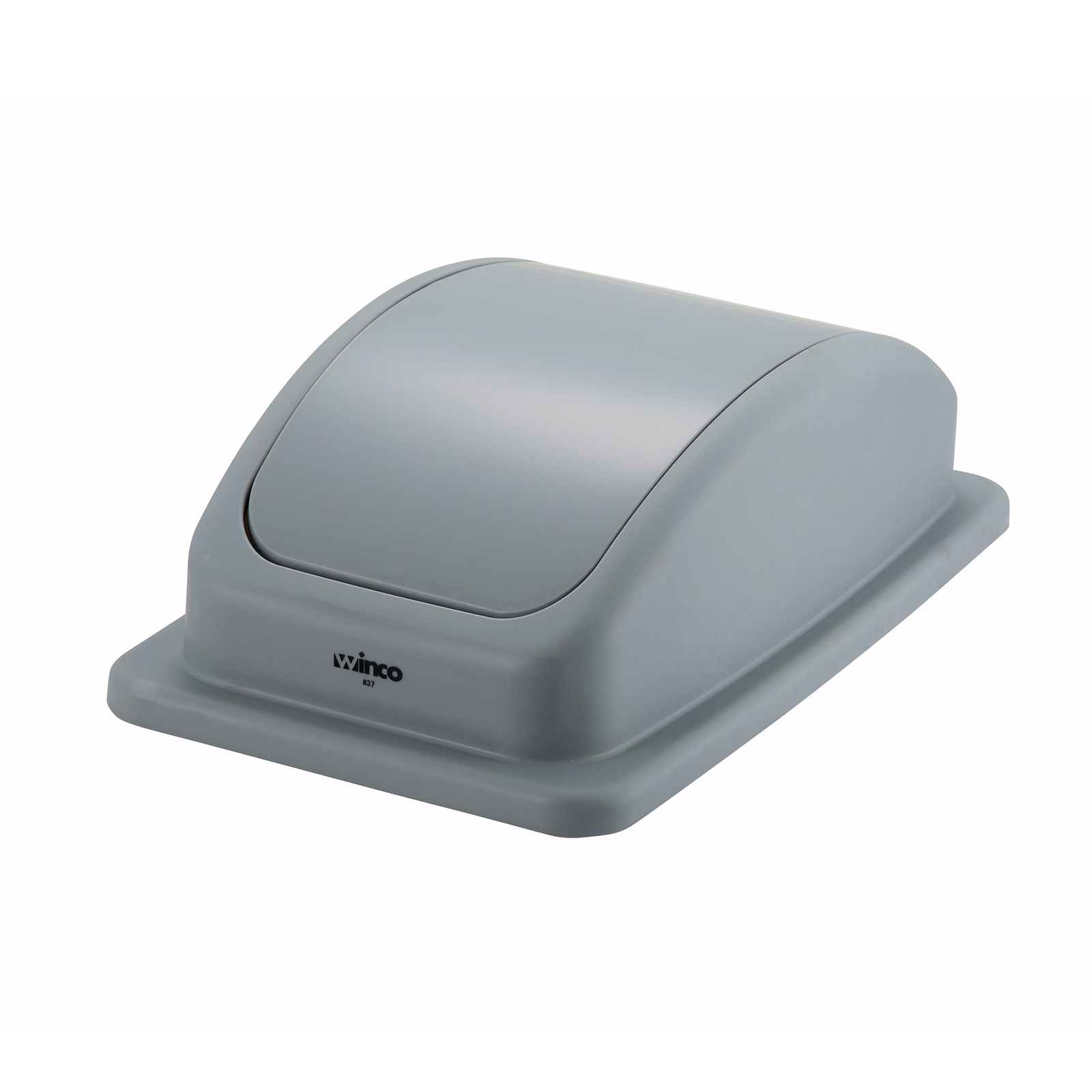 Winco PTCL-23 trash receptacle lid / top