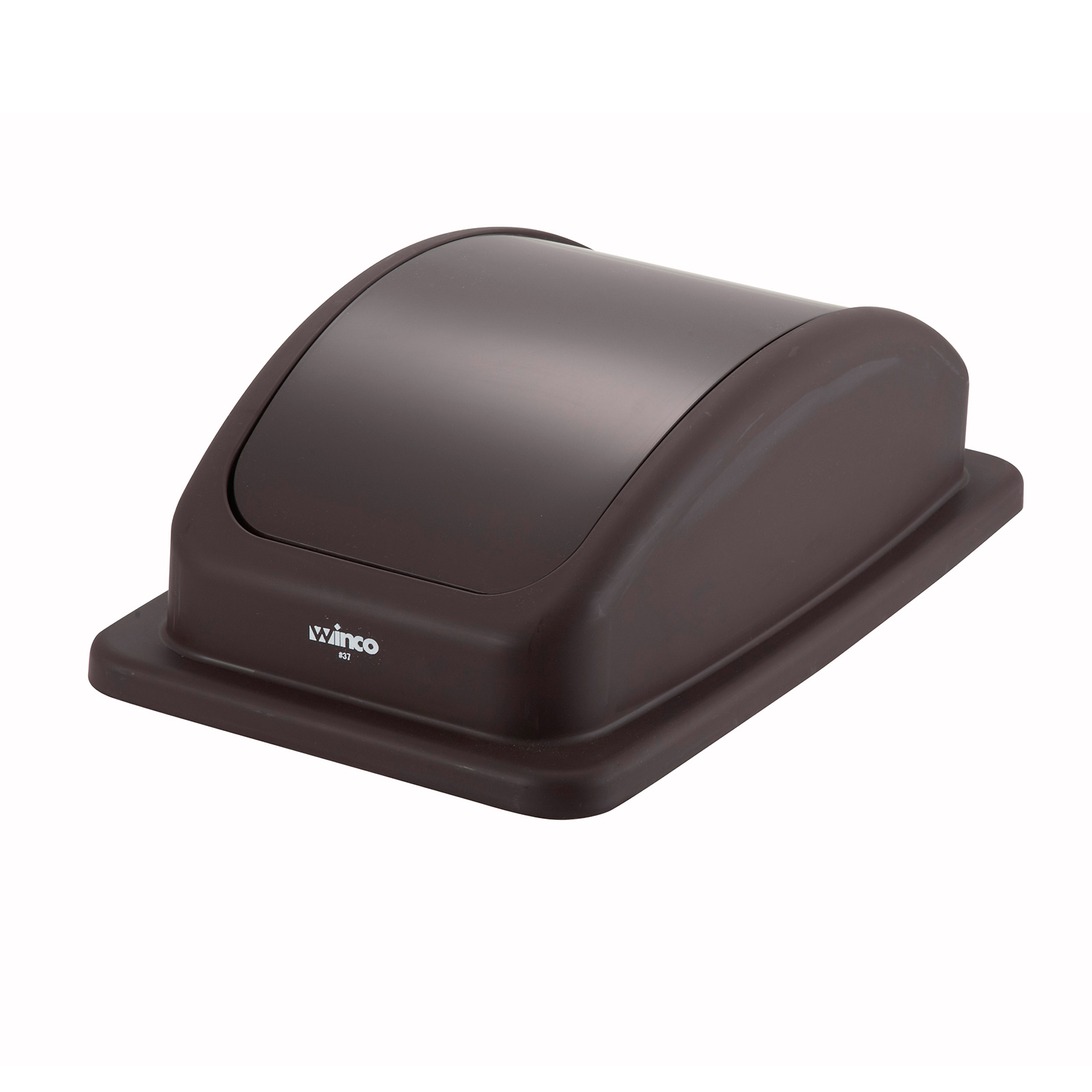 Winco PTCL-23B trash receptacle lid / top