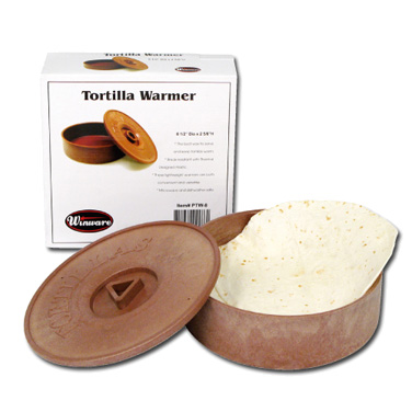 Winco PTW-8 tortilla warmer / basket