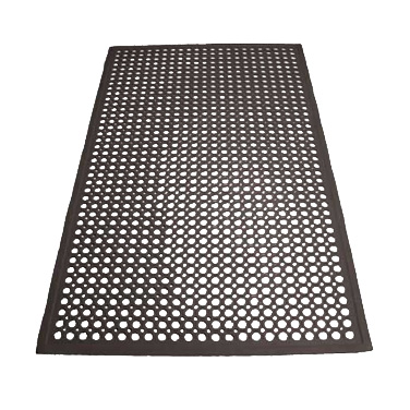 Winco RBM-35K floor mat, general purpose