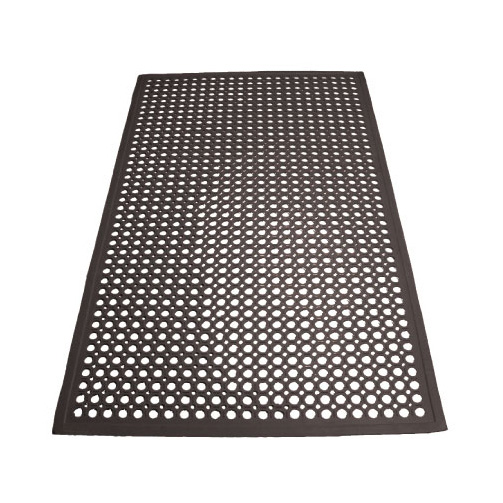 Winco RBM-35K-R floor mat, general purpose