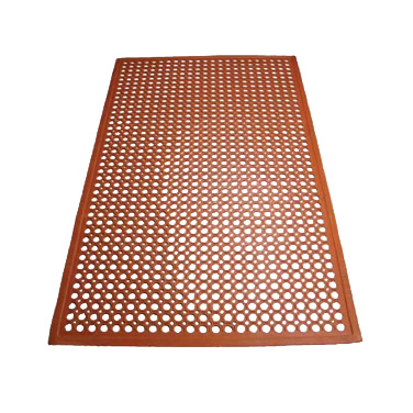 Winco RBM-35R floor mat, general purpose