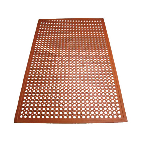 Winco RBM-35R-R floor mat, general purpose