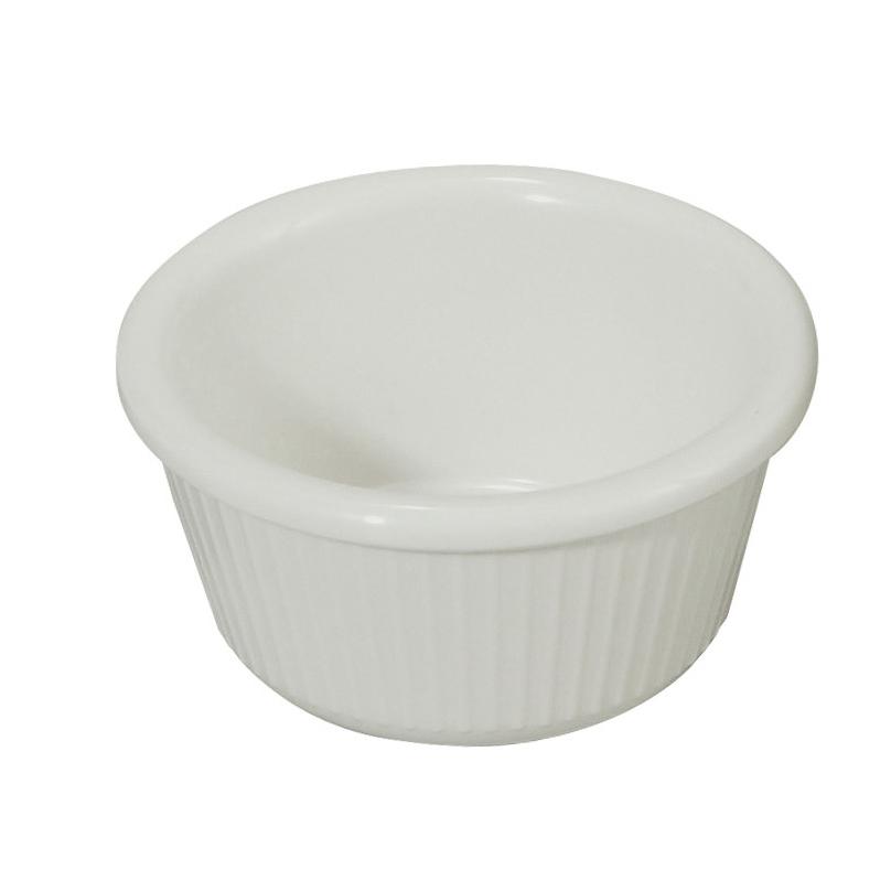 Winco RFM-3W ramekin / sauce cup, plastic