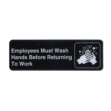 Winco SGN-322 sign, compliance