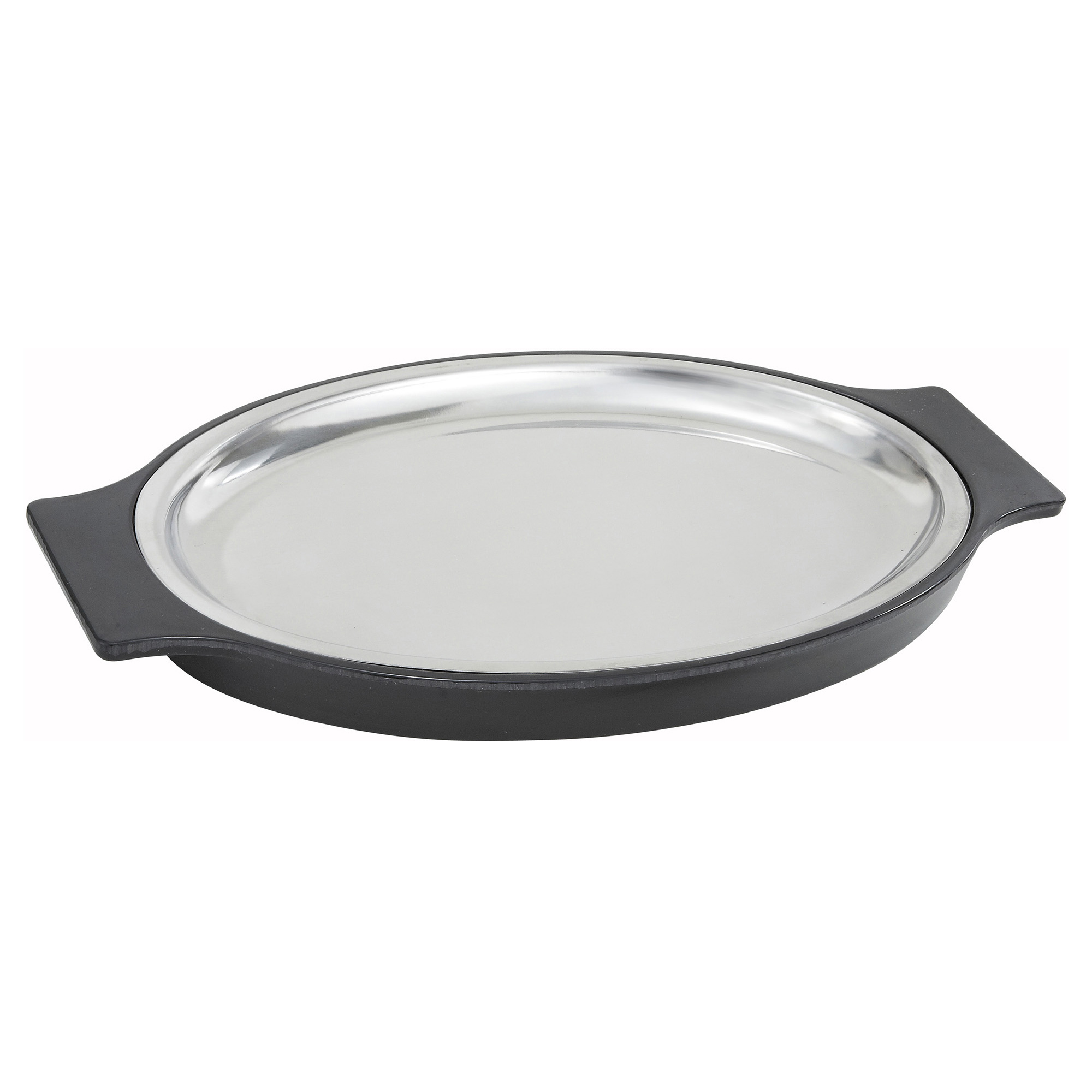 Winco SIZ-11ST sizzle thermal platter set