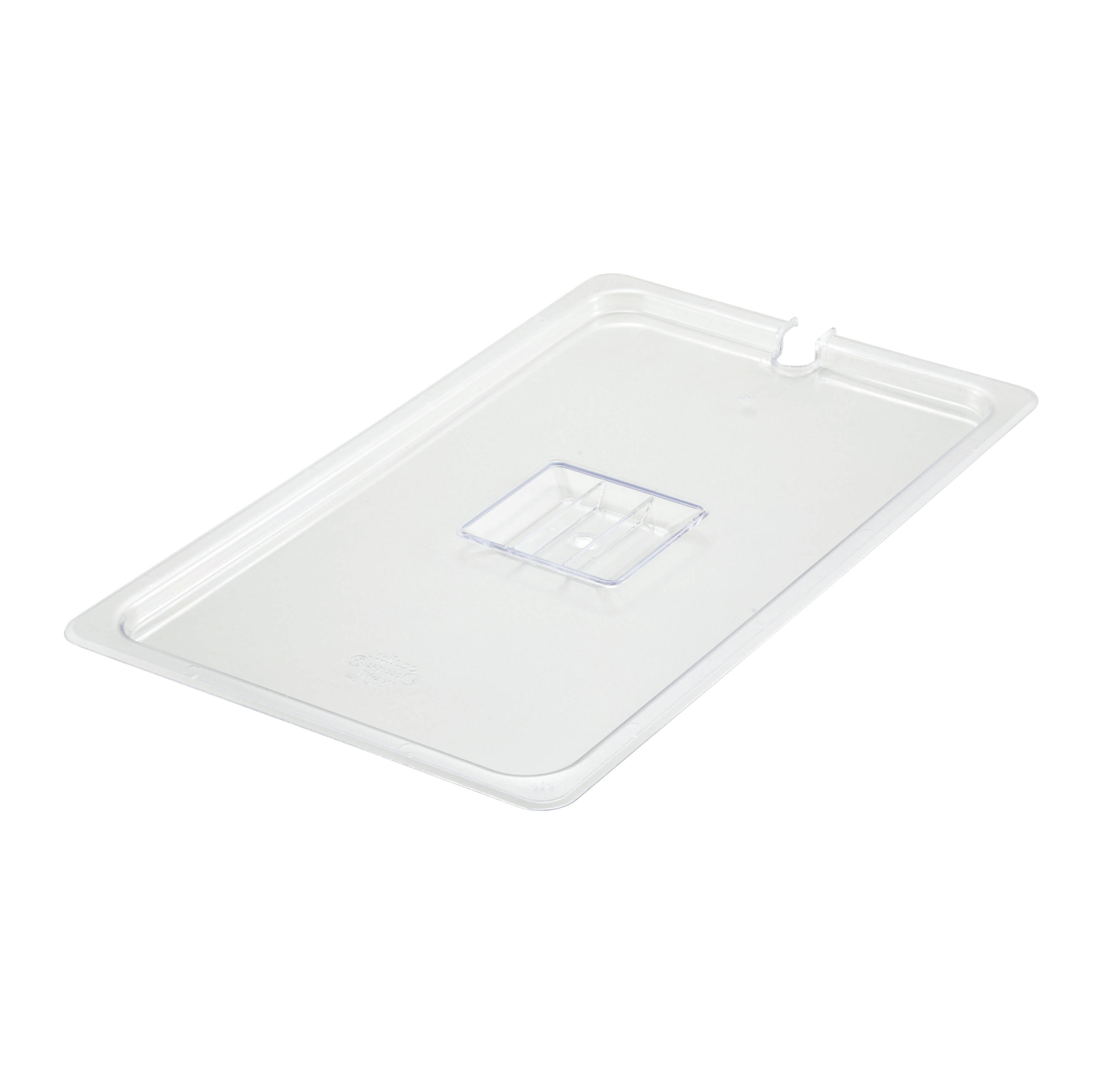 Winco SP7100C food pan cover, plastic