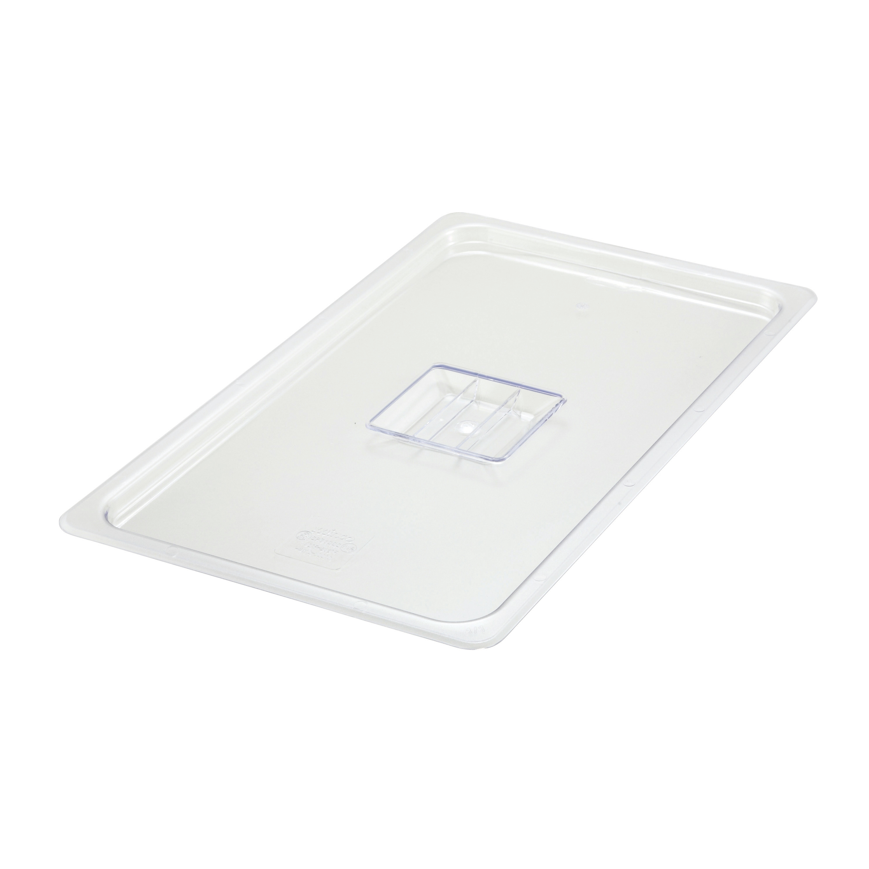 Winco SP7100S food pan cover, plastic