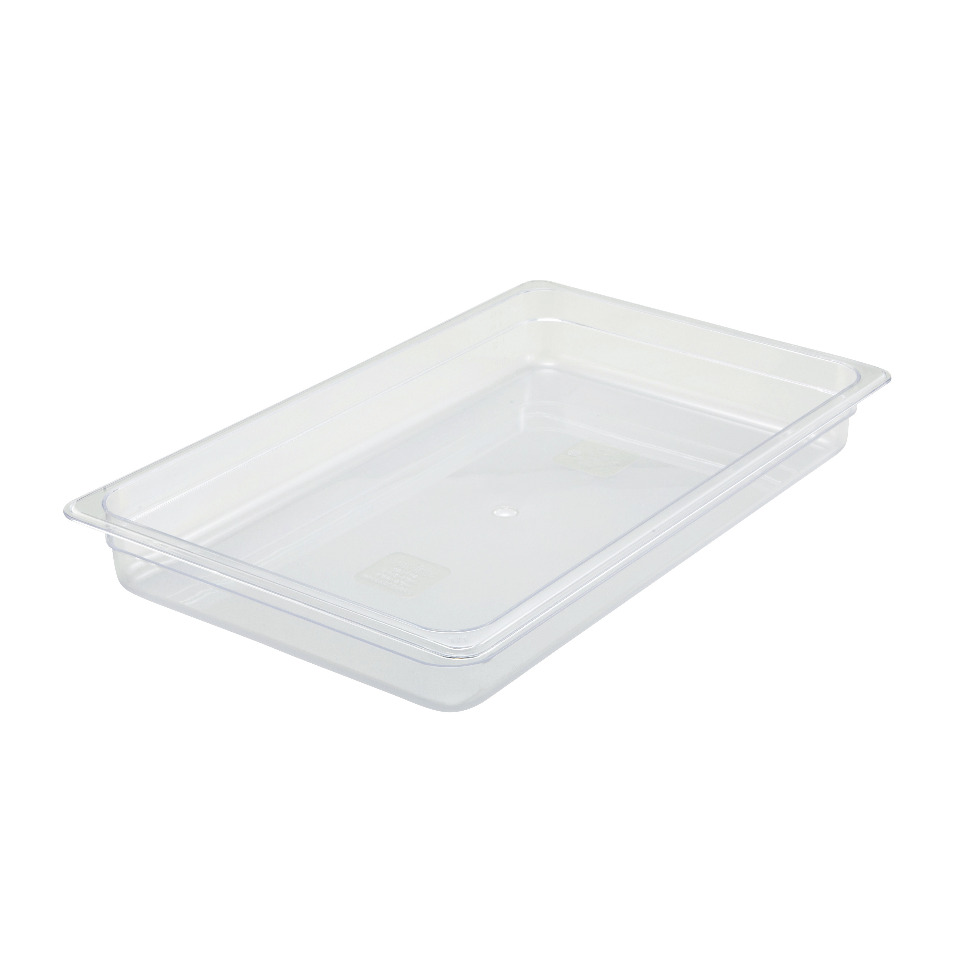 Winco SP7102 food pan, plastic
