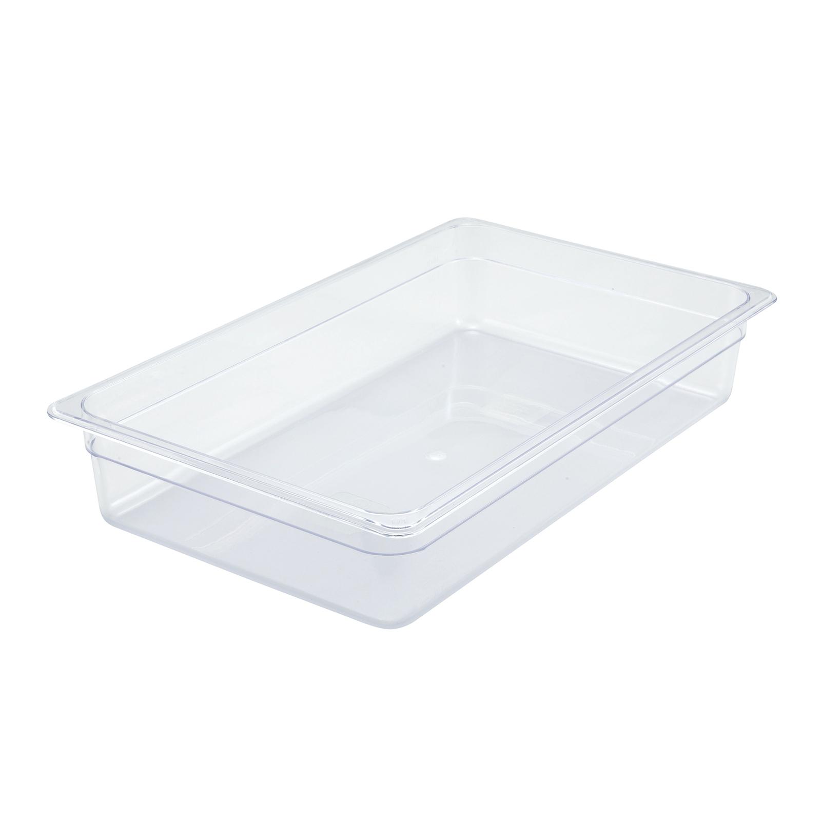 Winco SP7104 food pan, plastic