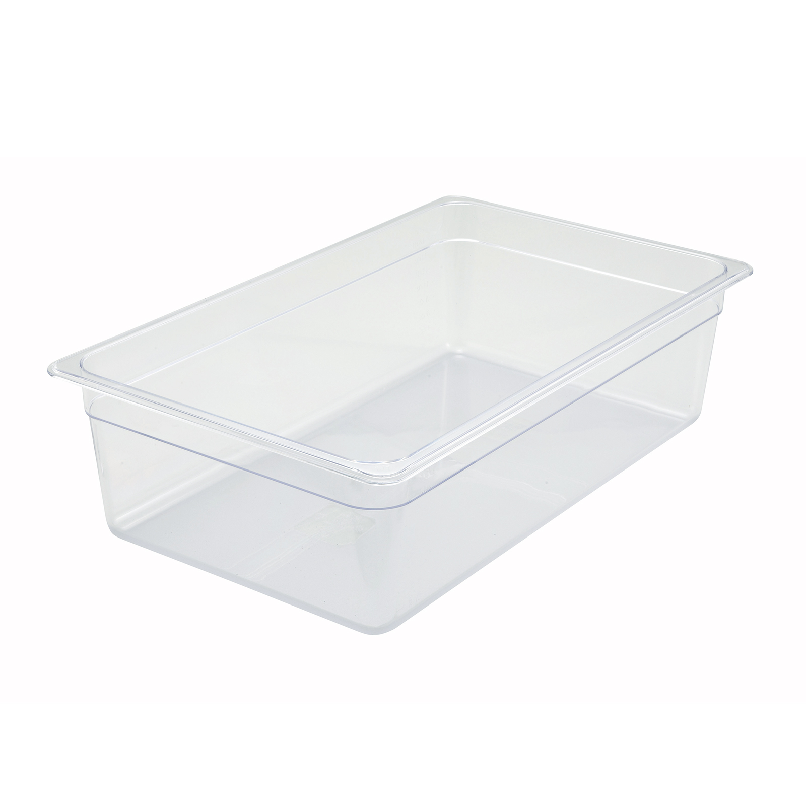 2410-012 Winco SP7106 FULL size 6in D food pan, plastic
