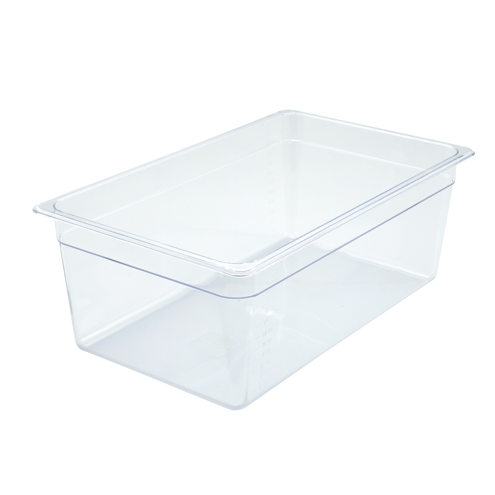 Winco SP7108 food pan, plastic