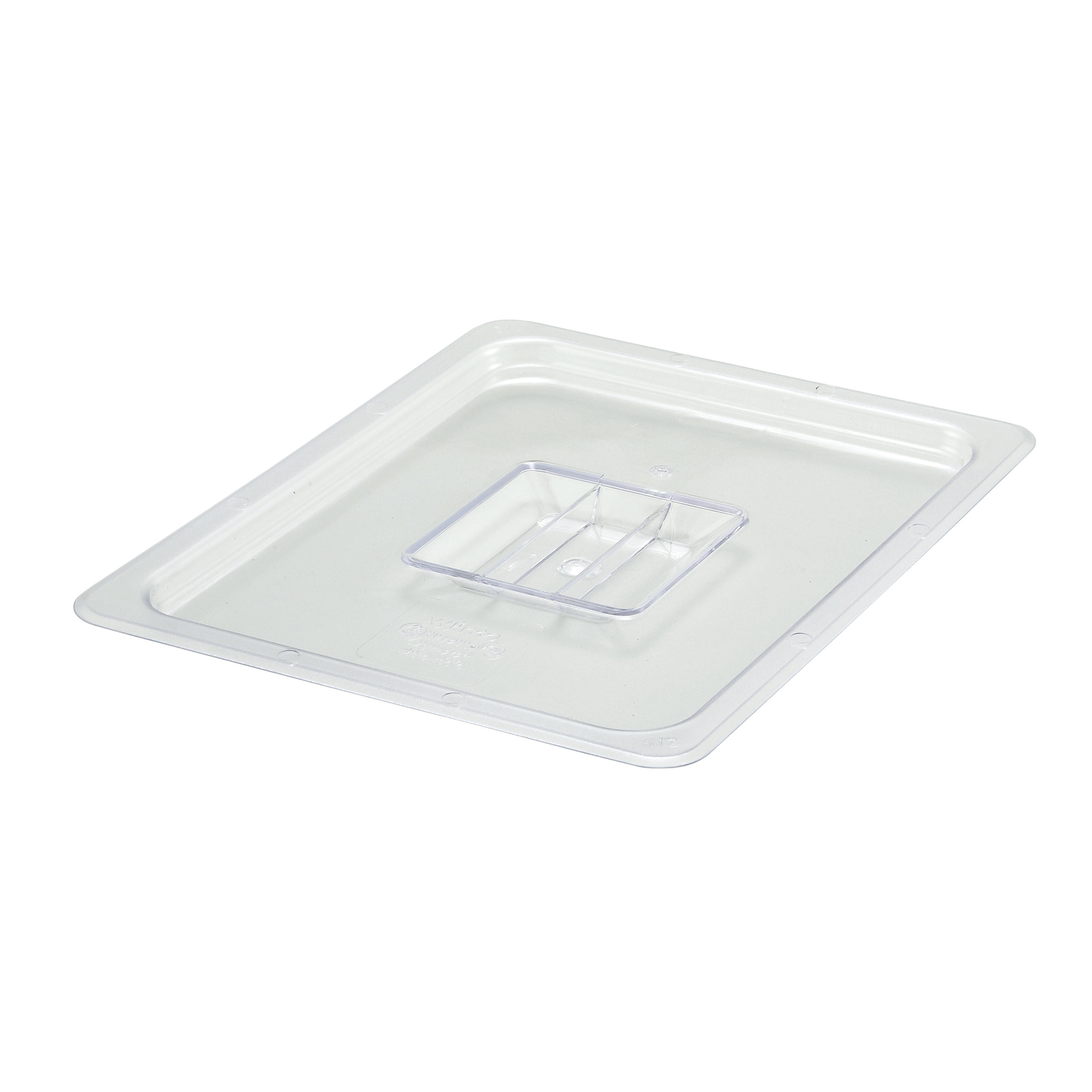 2410-020 Winco SP7200S food pan 1/2size solid cover, plastic