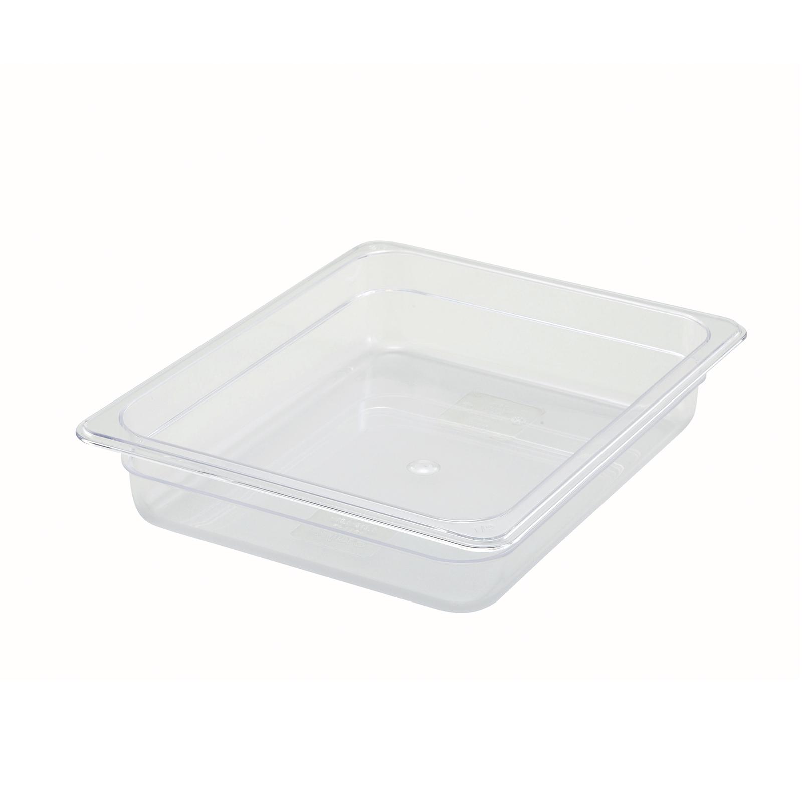 Winco SP7202 food pan, plastic