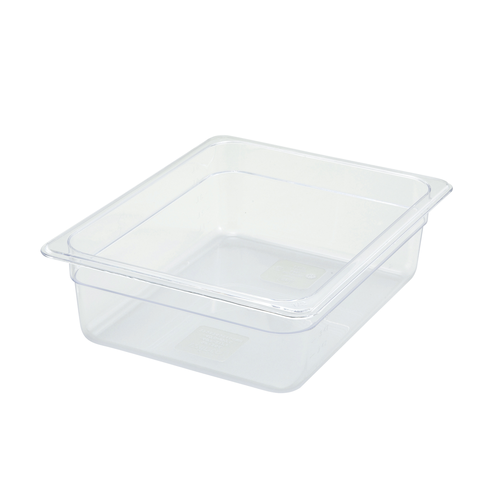 Winco SP7204 food pan, plastic