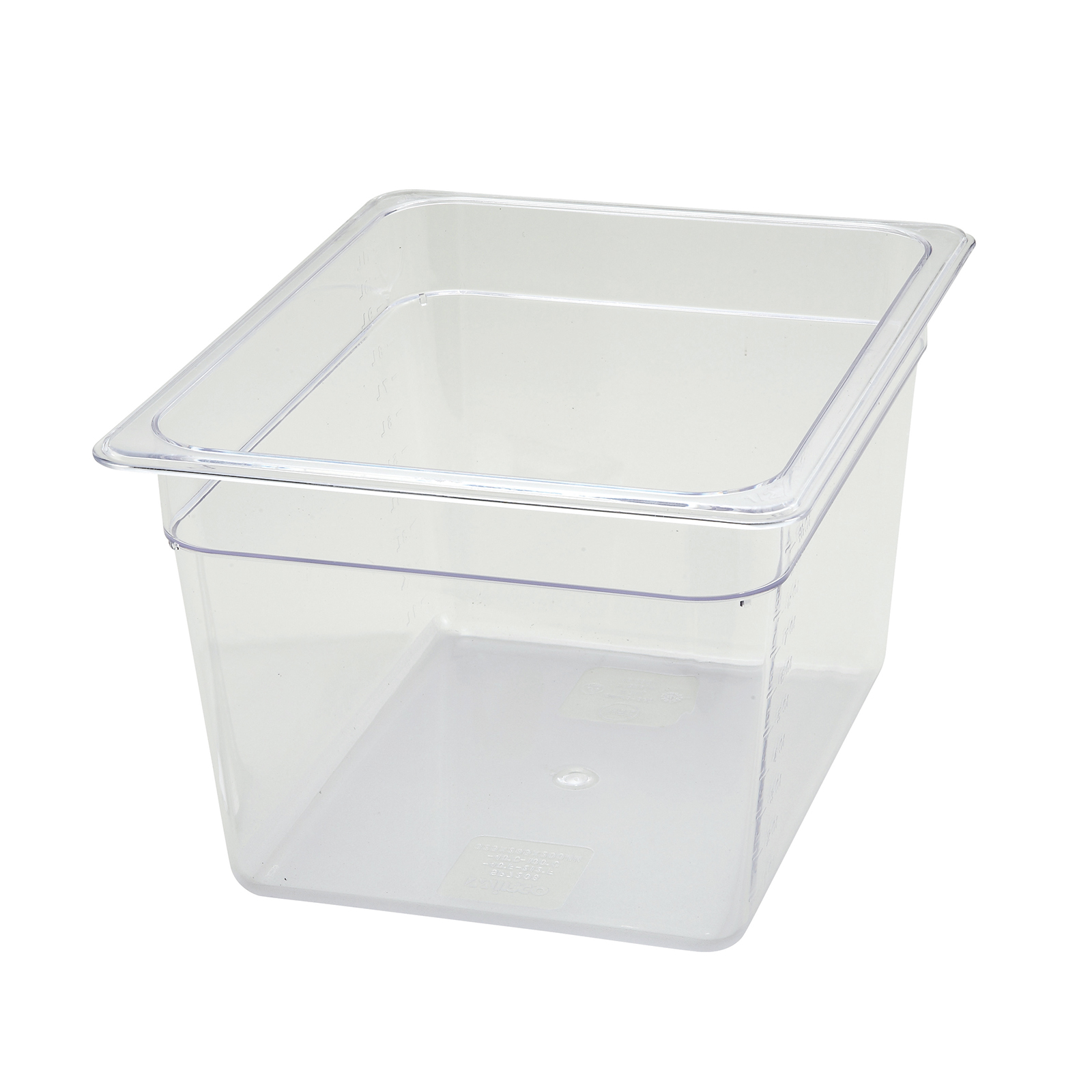 Winco SP7208 food pan, plastic