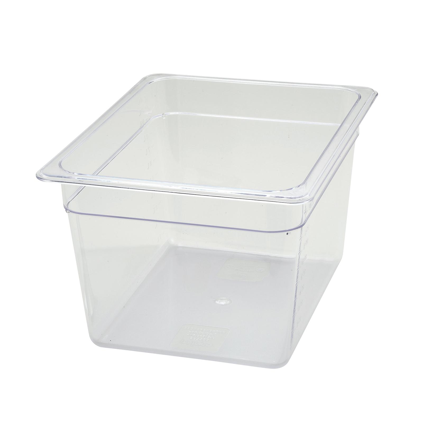 Winco SP7208 food pan, plastic