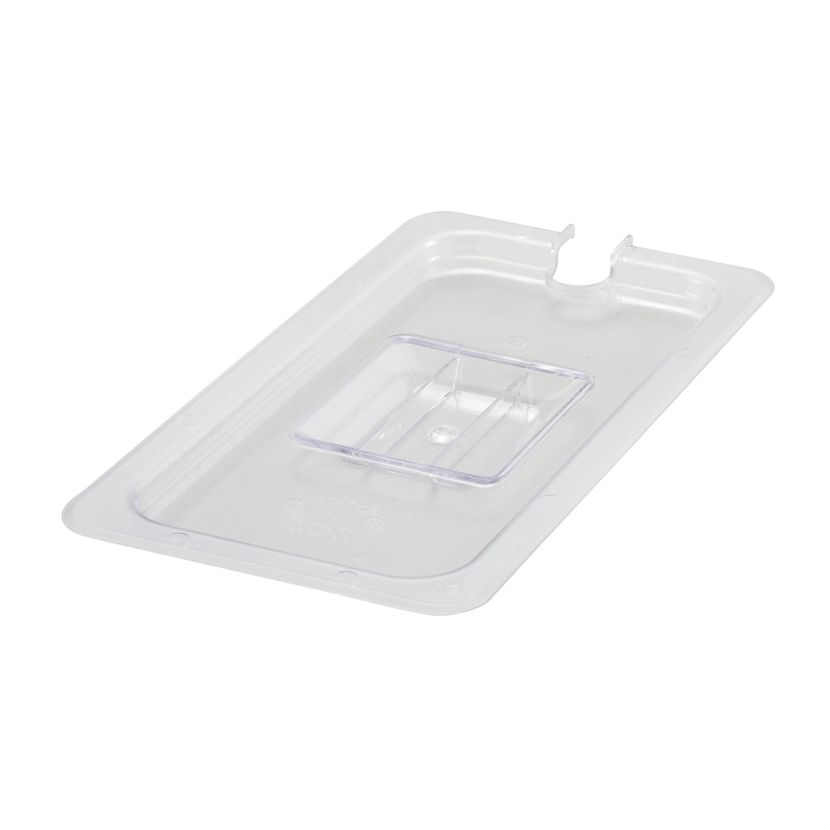 Winco SP7300C food pan cover, plastic