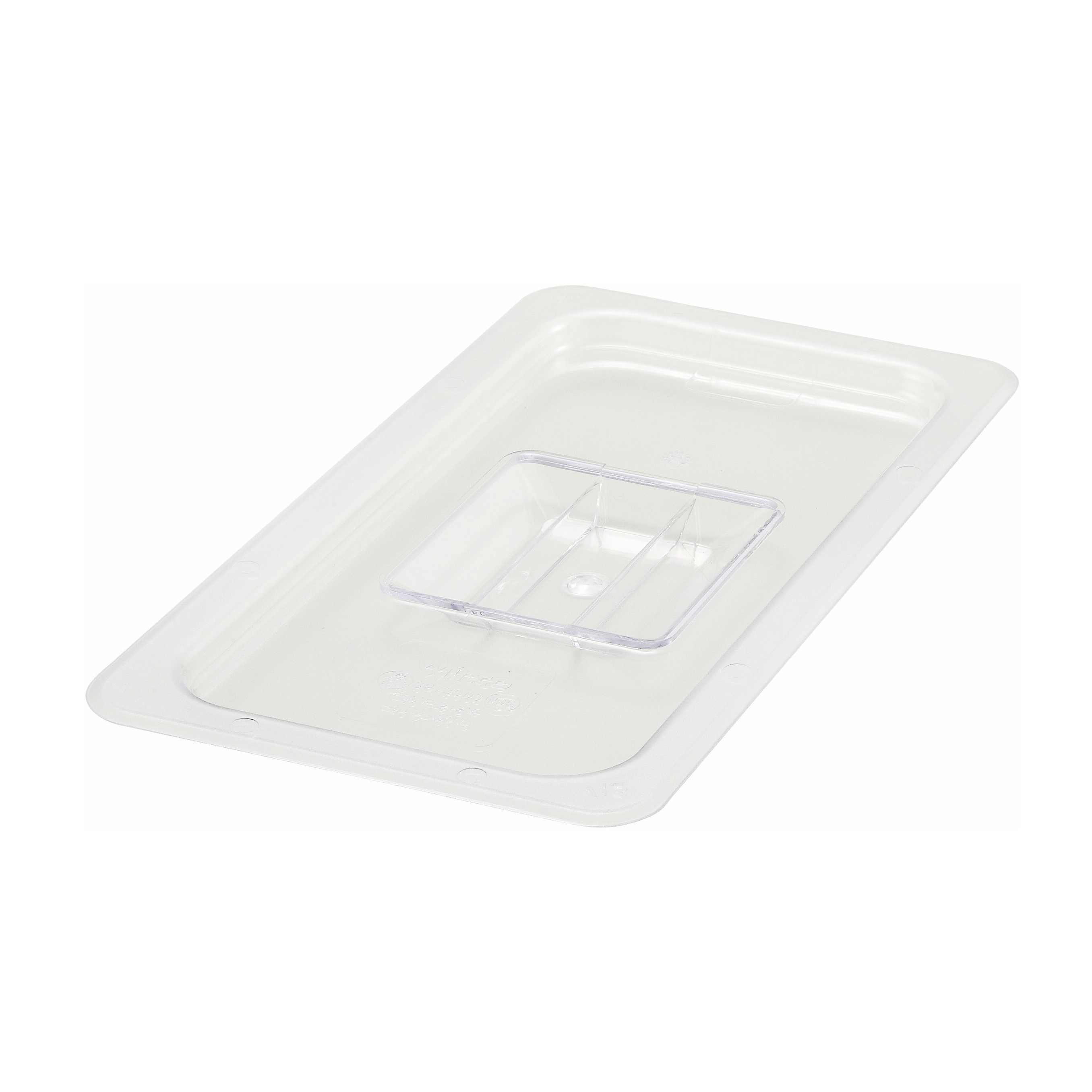 Winco SP7300S food pan cover, plastic