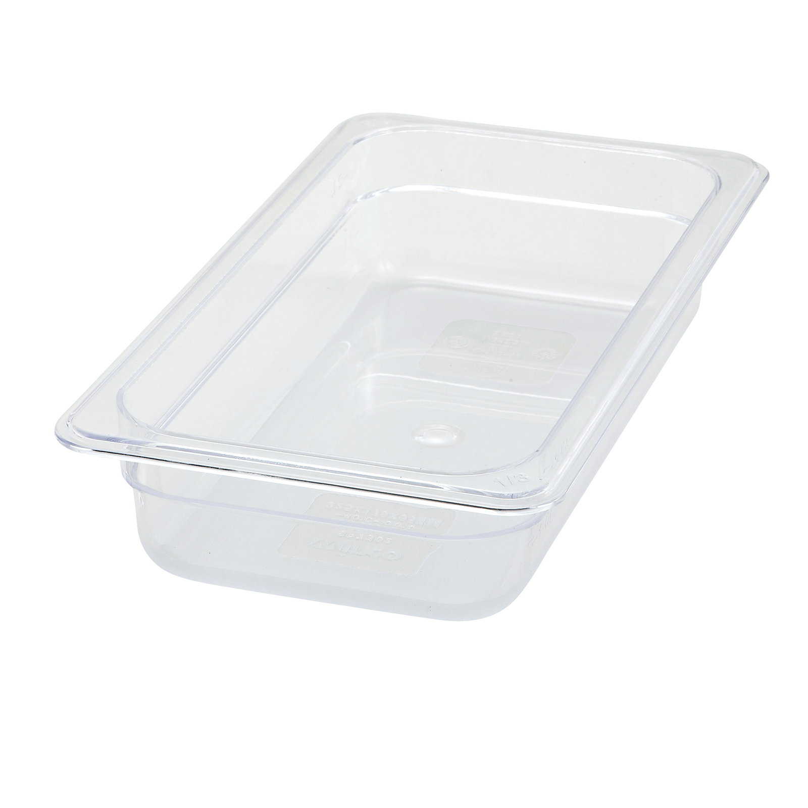 Winco SP7302 food pan, plastic