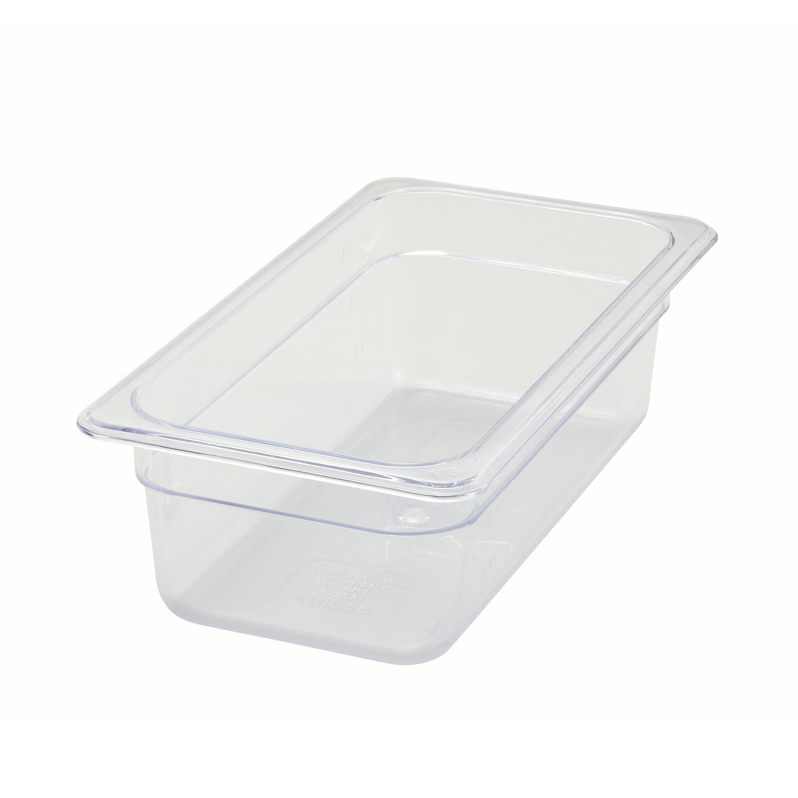 Winco SP7304 food pan, plastic