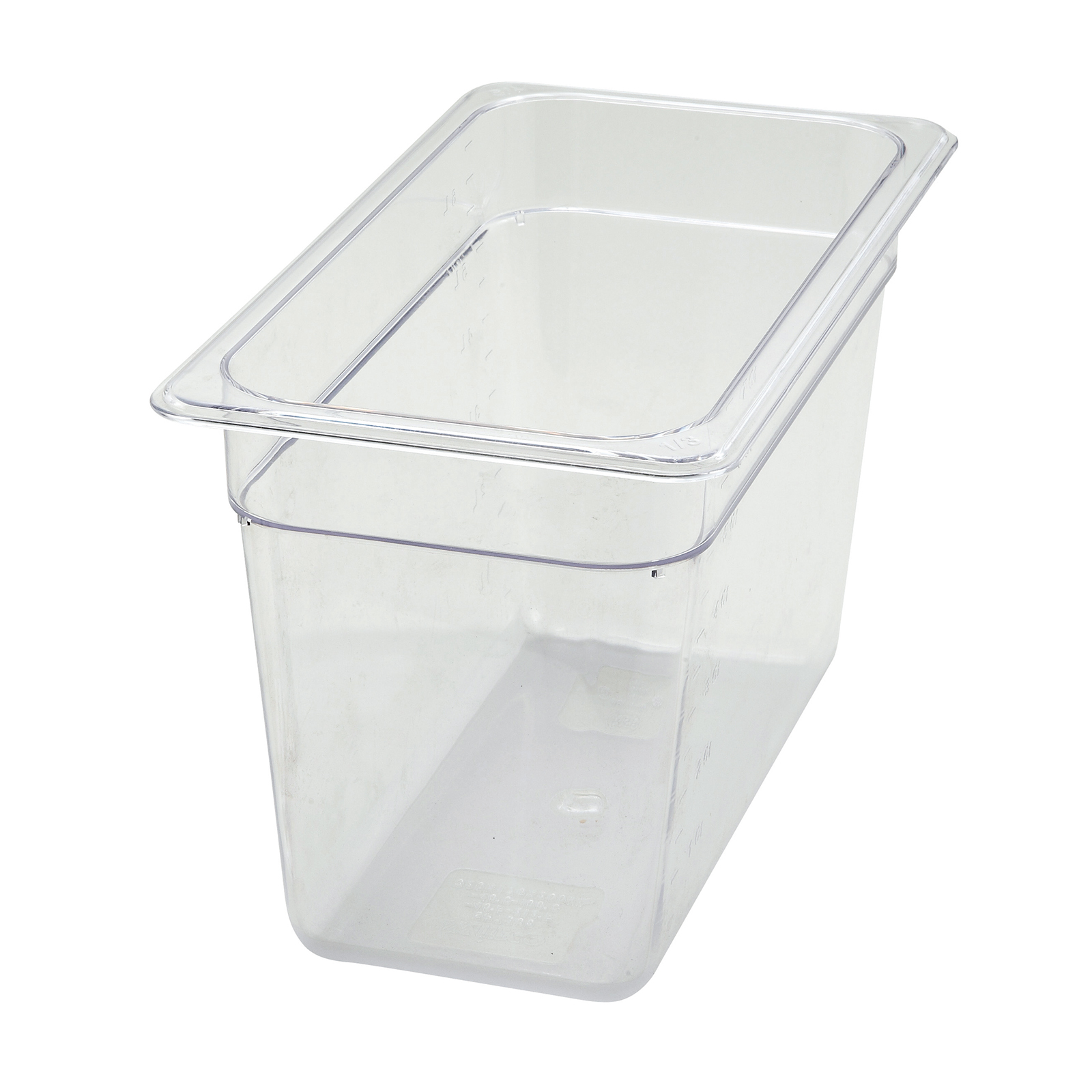 Winco SP7308 food pan, plastic