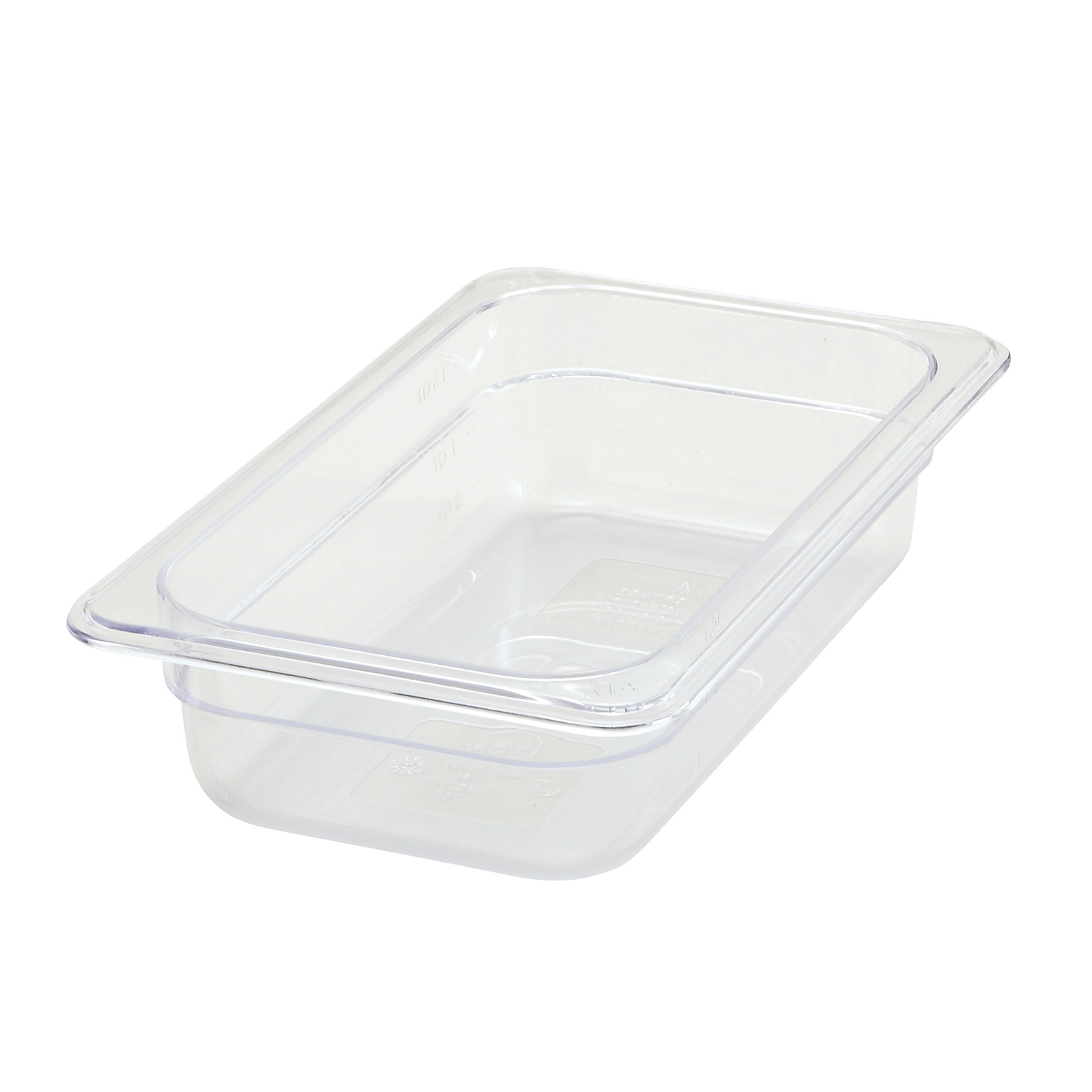 Winco SP7402 food pan, plastic