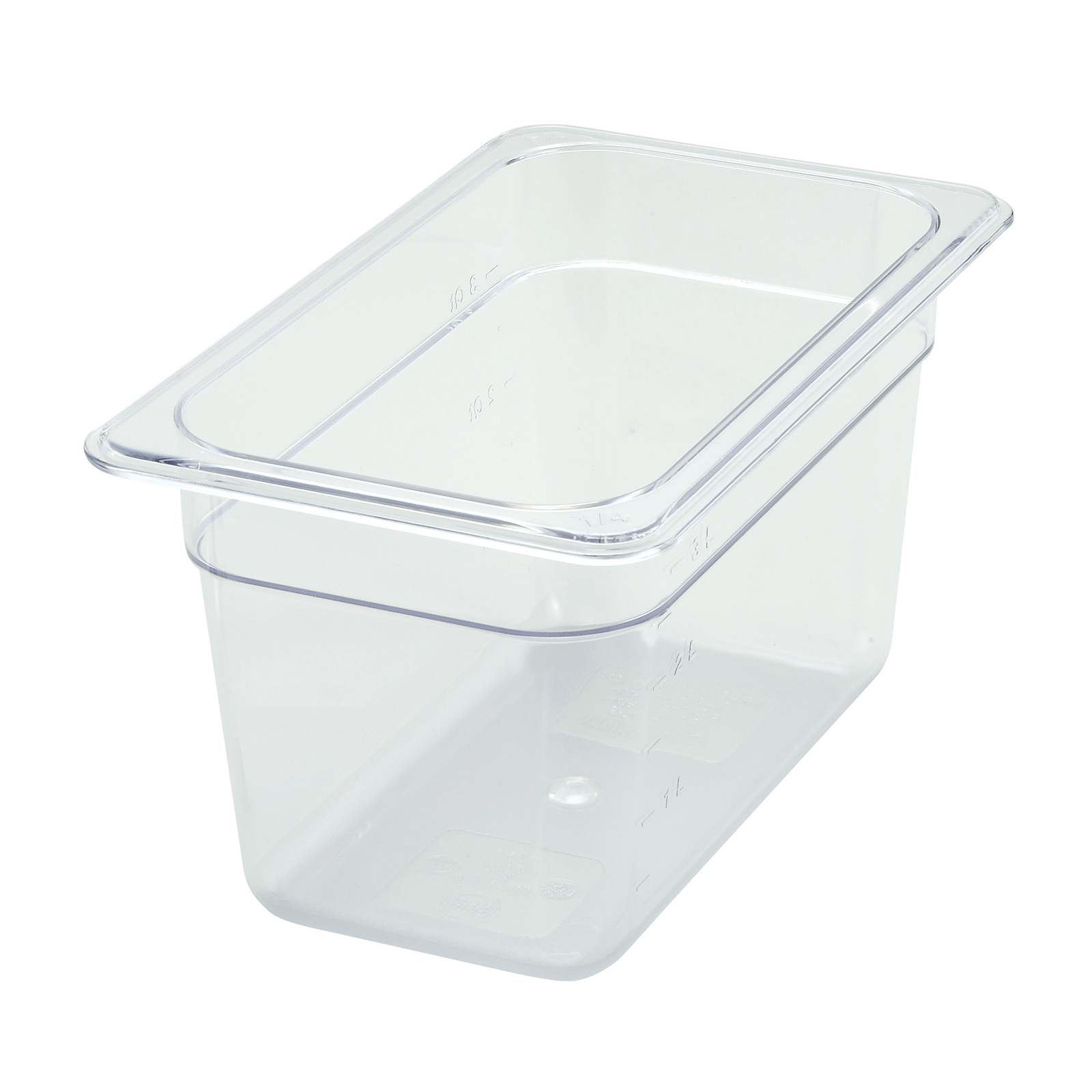Winco SP7406 food pan, plastic