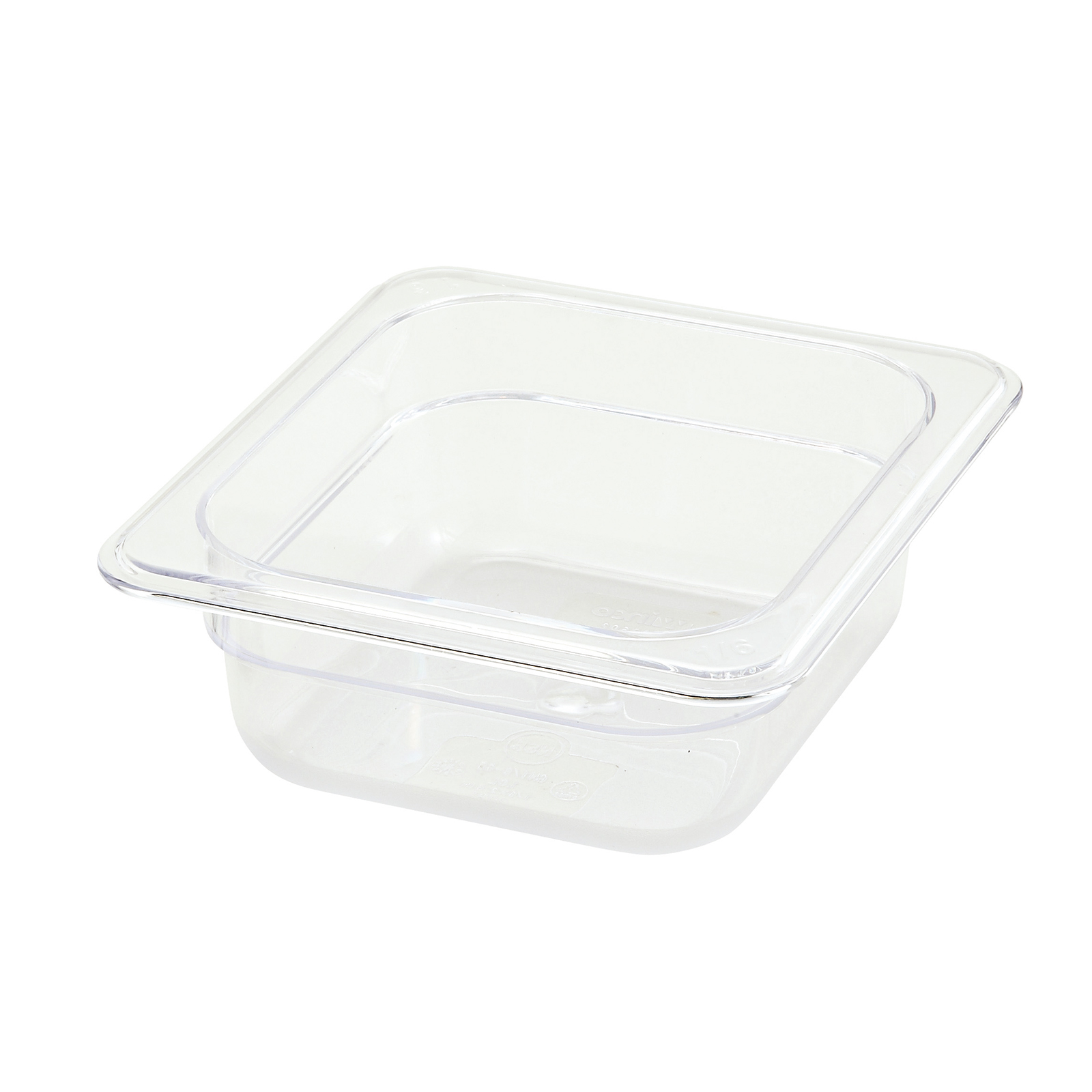 Winco SP7602 food pan, plastic