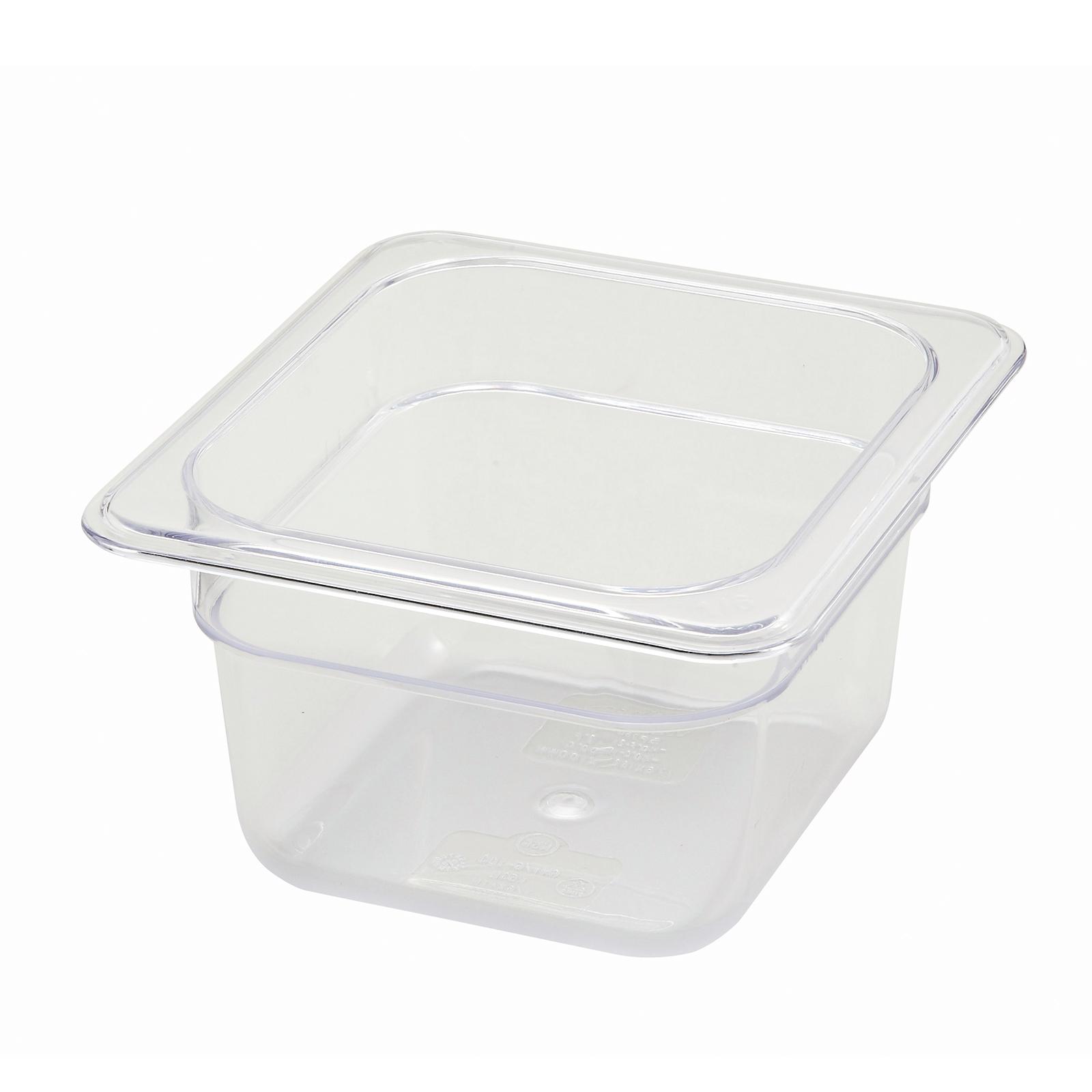 Winco SP7604 food pan, plastic