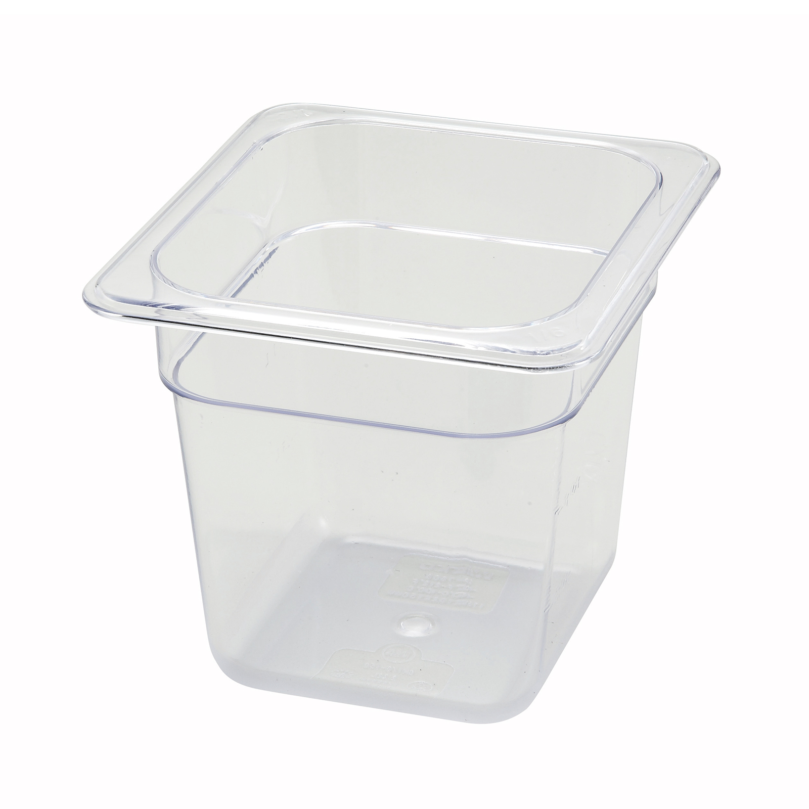 Winco SP7606 food pan, plastic
