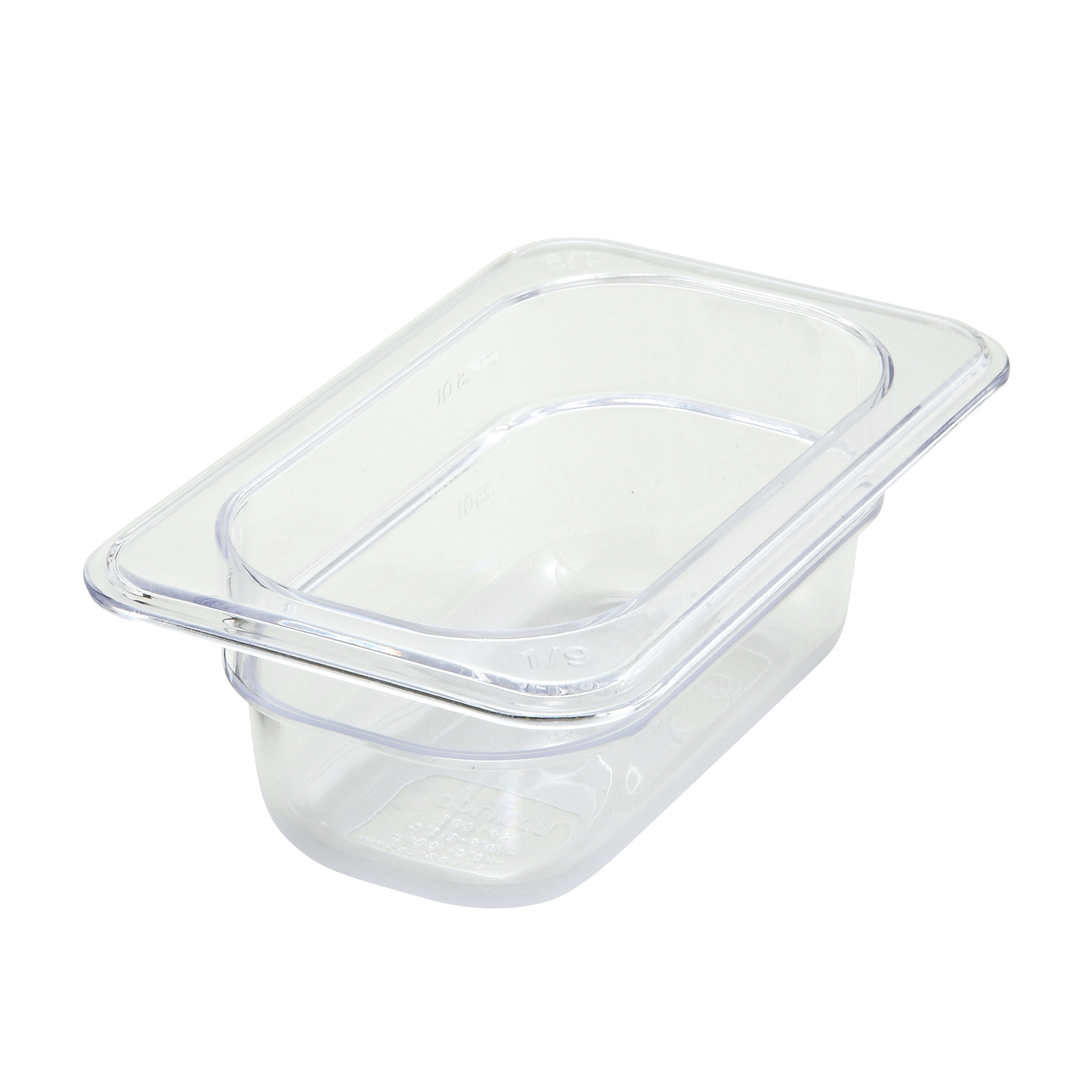 Winco SP7902 food pan, plastic