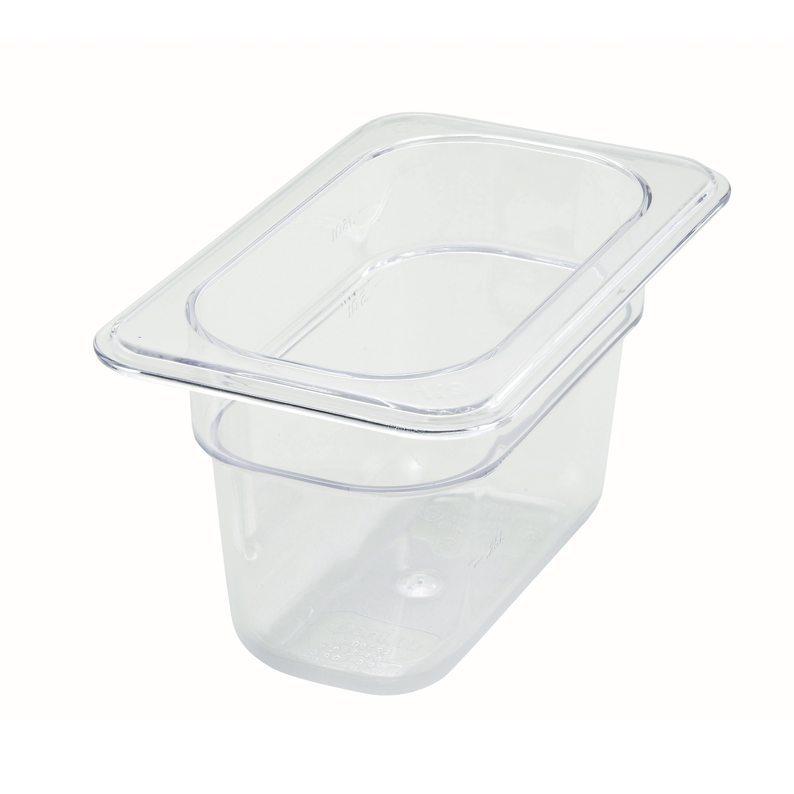 Winco SP7904 food pan, plastic