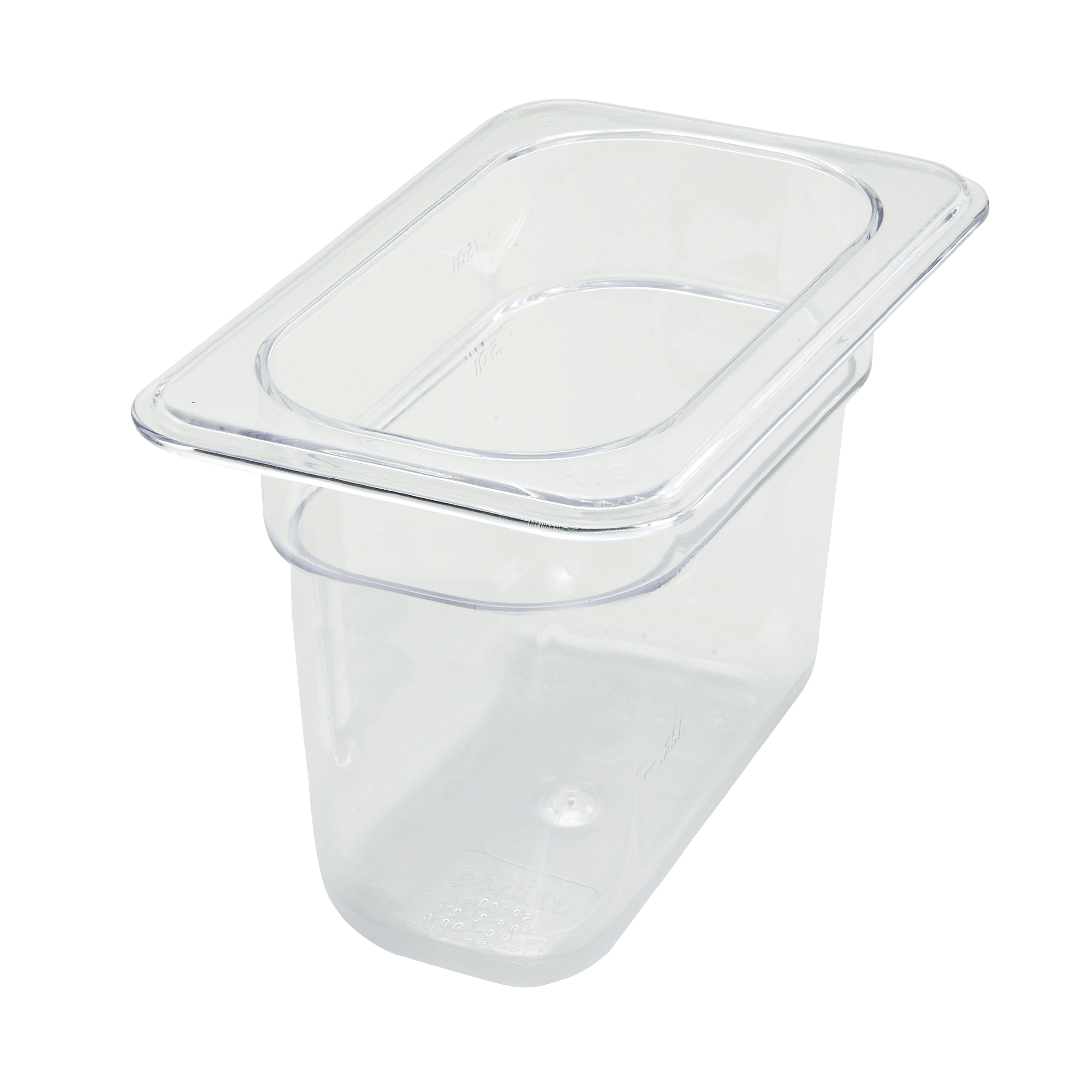 Winco SP7906 food pan, plastic
