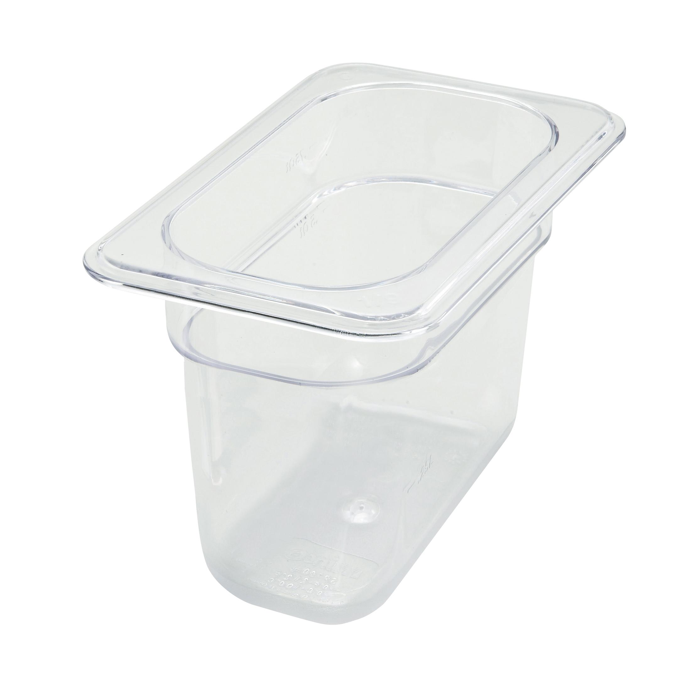 Winco SP7906 food pan, plastic