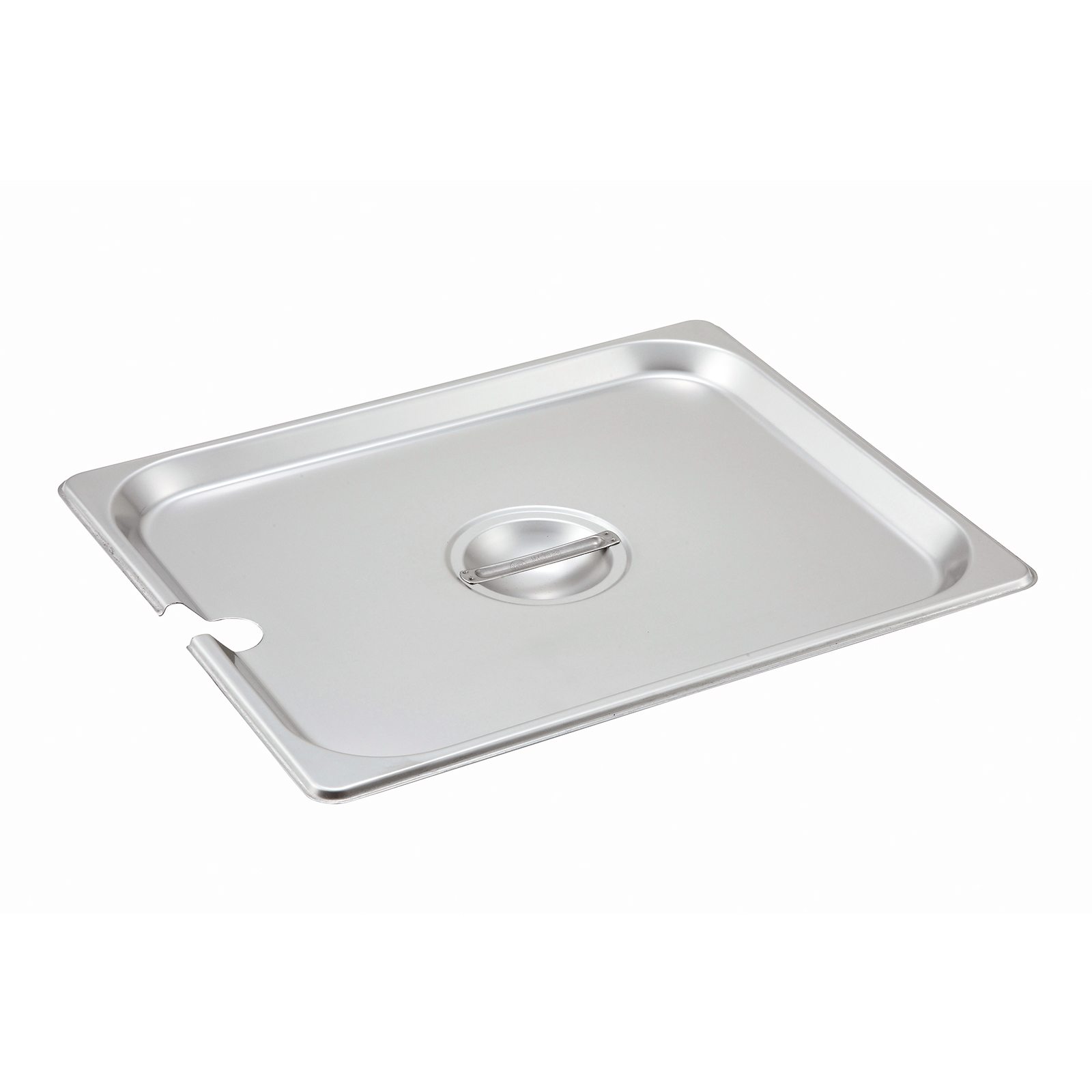 Winco SPCH steam table pan cover, stainless steel